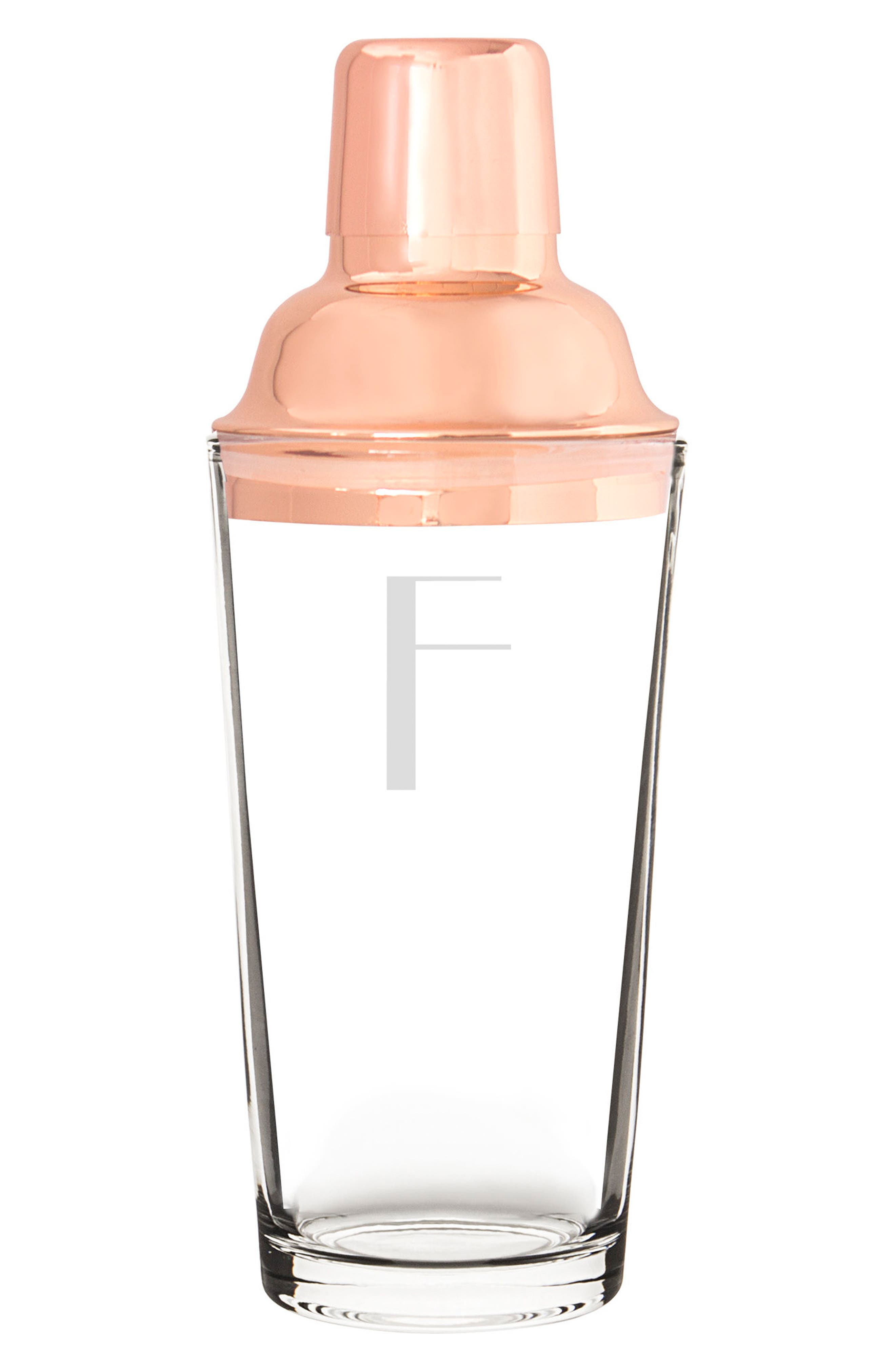 Monogram Coppertone Cocktail Shaker,                             Main thumbnail 7, color,