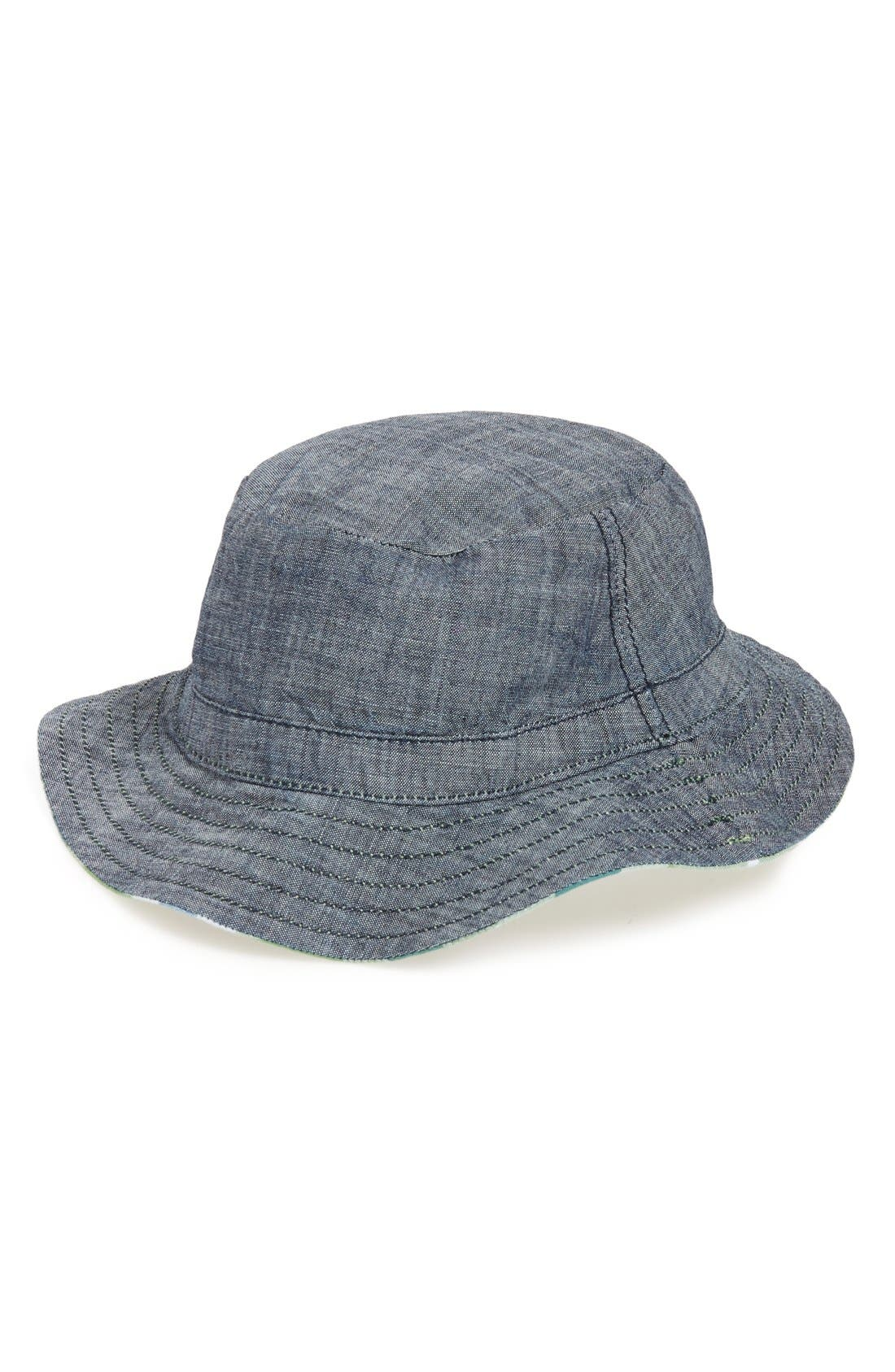 Reversible Bucket Hat,                             Alternate thumbnail 6, color,