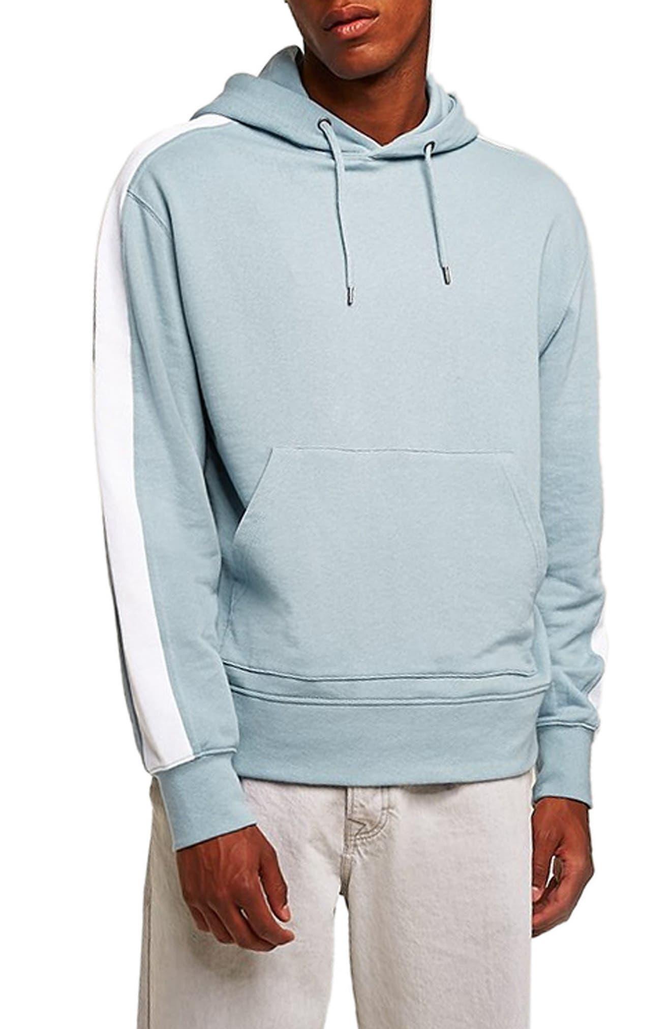 Colorblock Hooded Sweatshirt,                         Main,                         color, 400