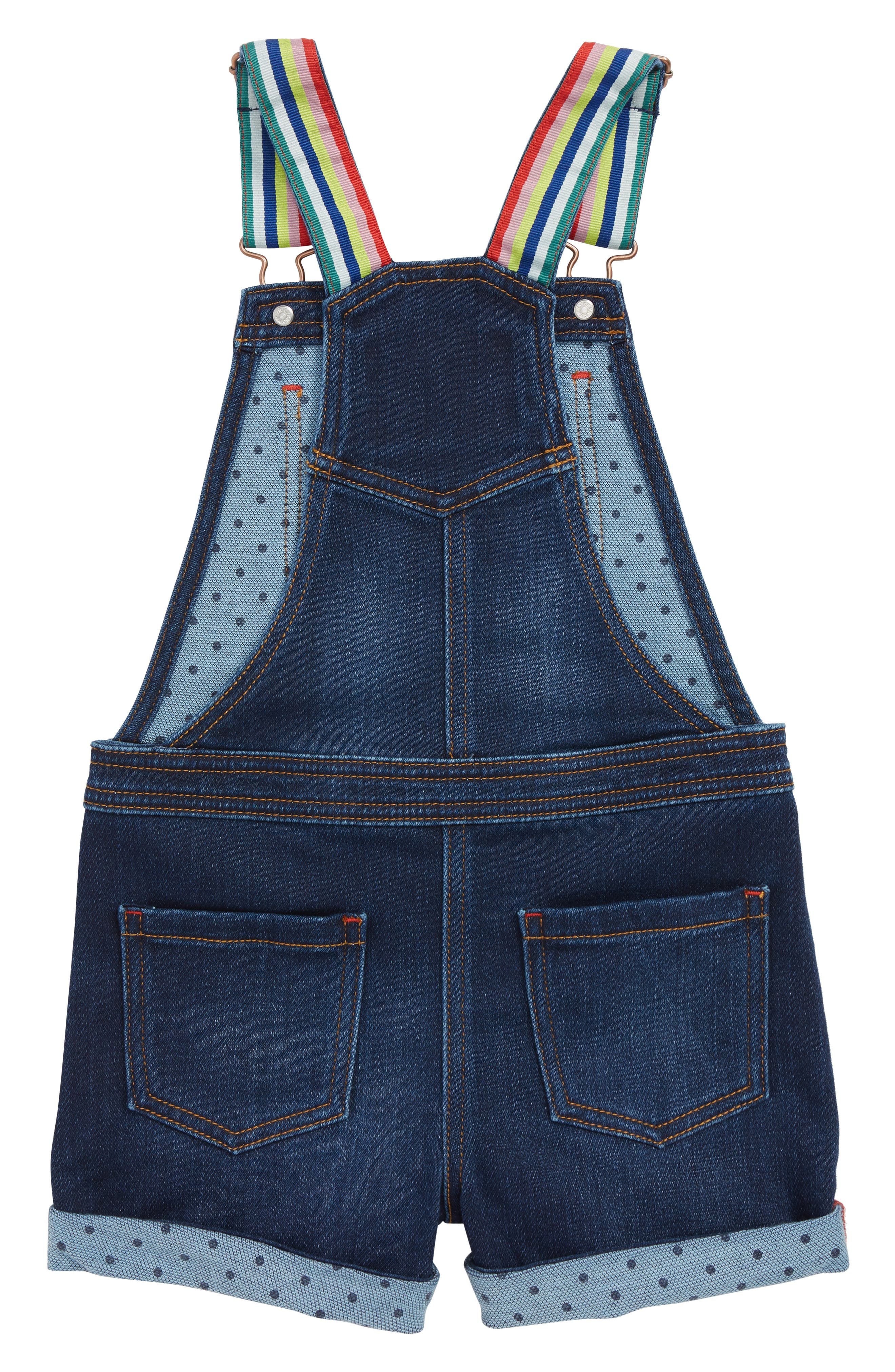 Dungarees Short Overalls,                             Alternate thumbnail 2, color,                             469