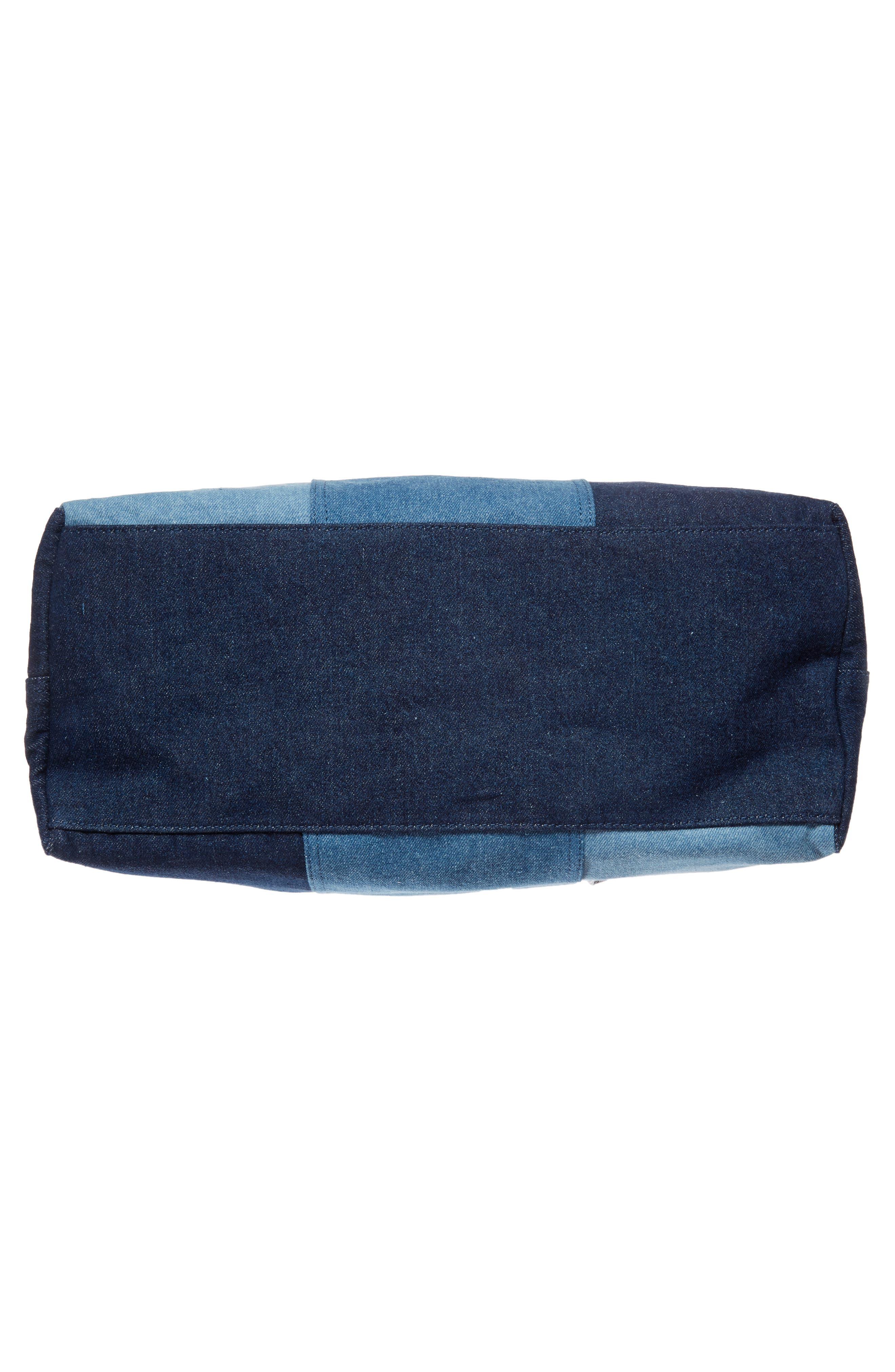 Denim Diaper Bag,                             Alternate thumbnail 6, color,                             460