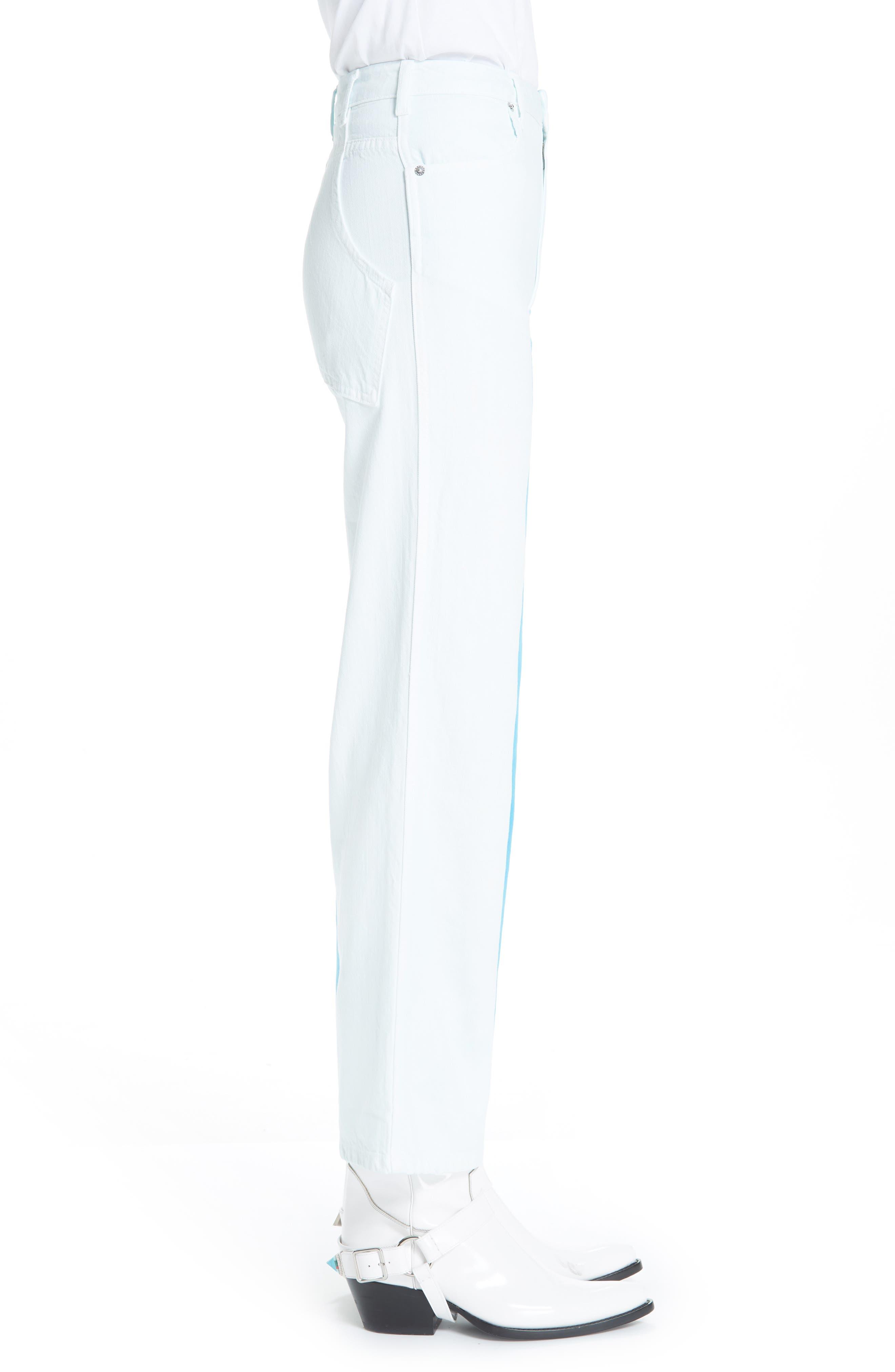 Wide Leg Jeans,                             Alternate thumbnail 3, color,                             DIRECTOIRE