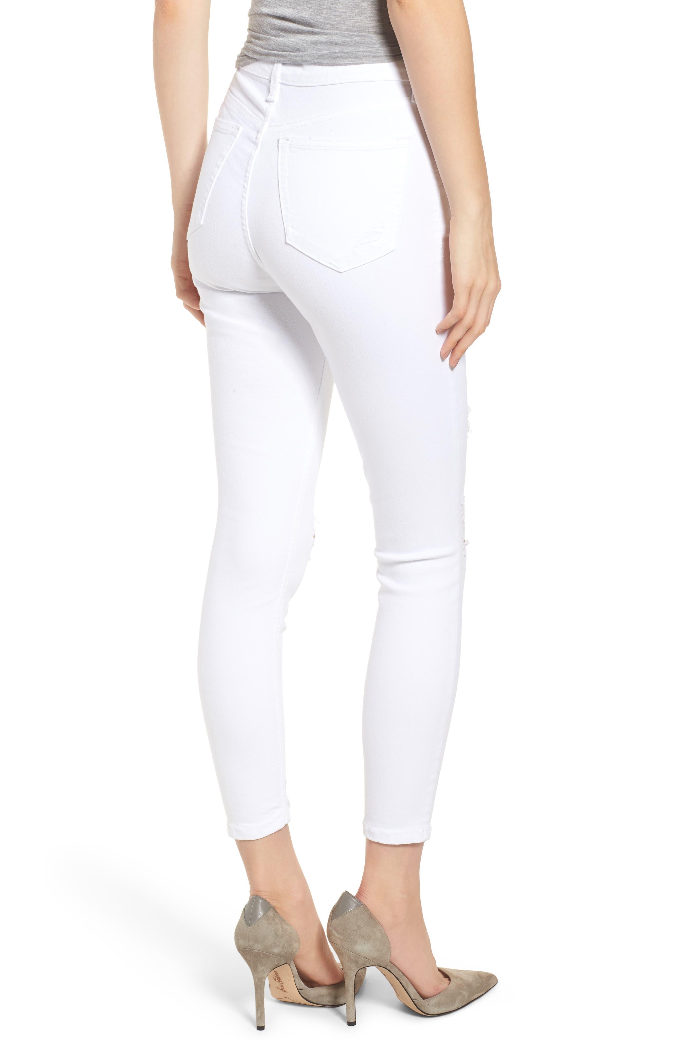Jamie Super Rip Jeans,                             Alternate thumbnail 2, color,                             100
