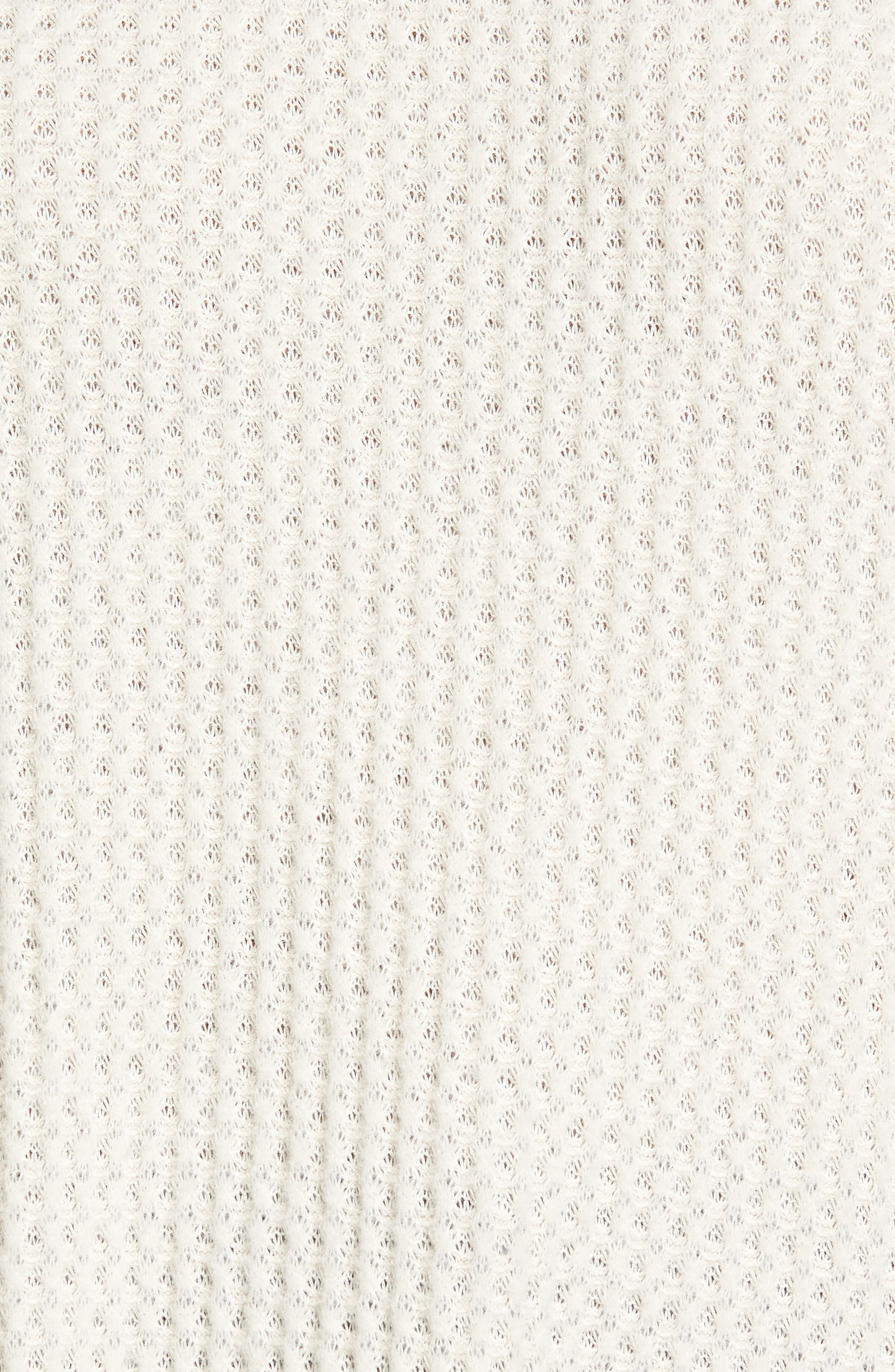 Waffle Knit Top,                             Alternate thumbnail 19, color,