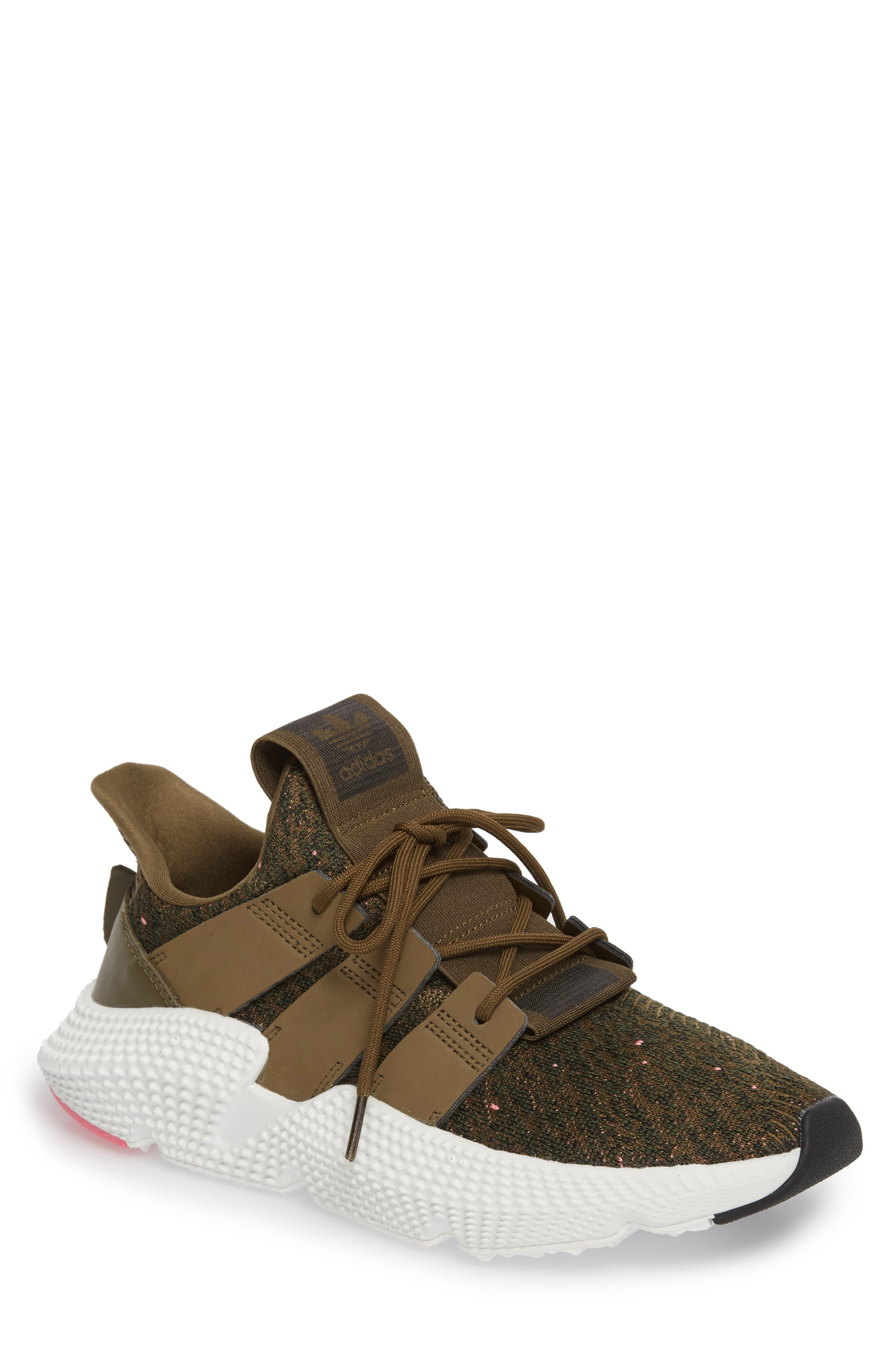 Prophere Sneaker,                         Main,                         color, TRACE OLIVE/ CHALK PINK