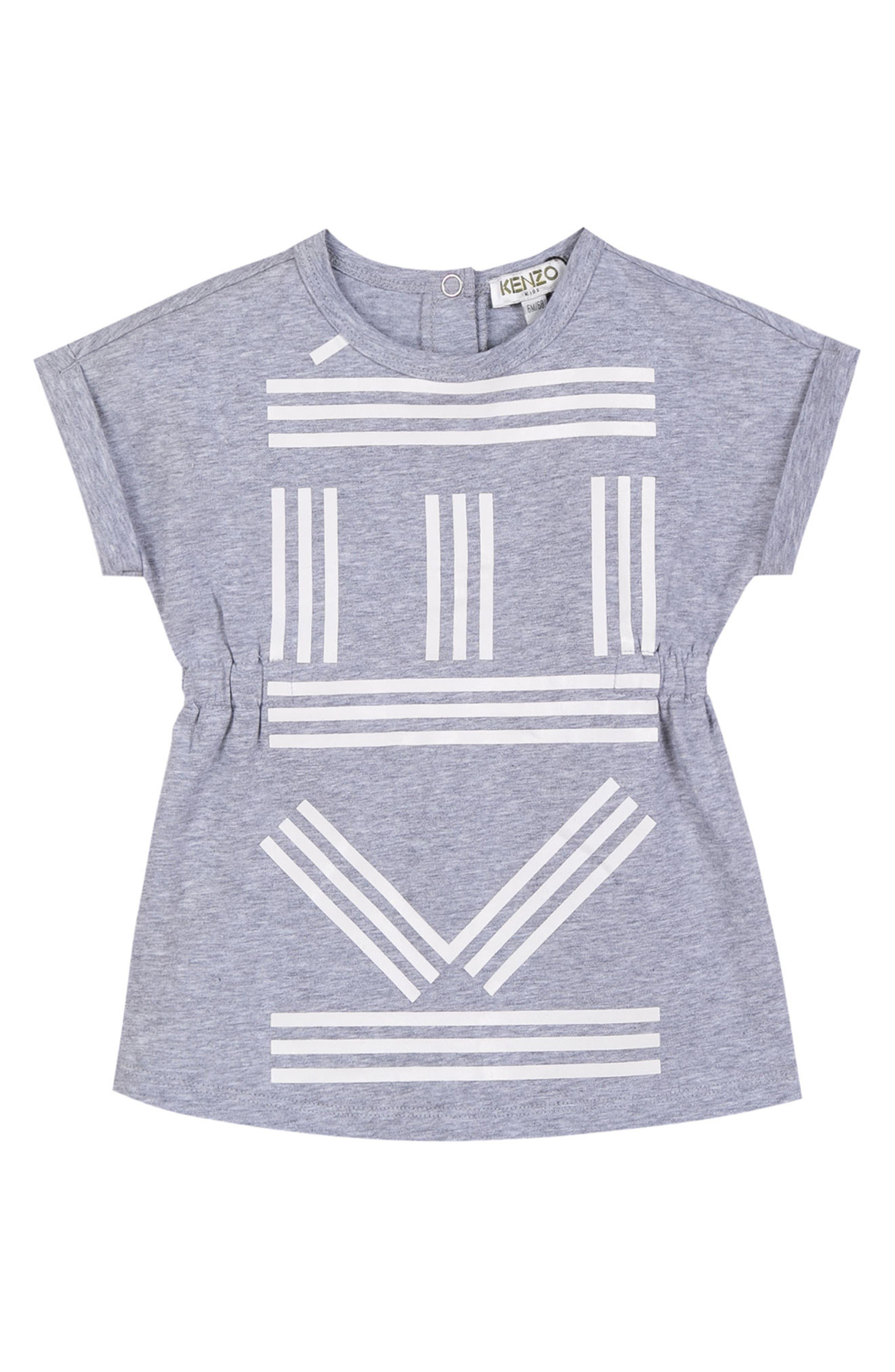 Logo T-Shirt Dress,                             Main thumbnail 1, color,                             066