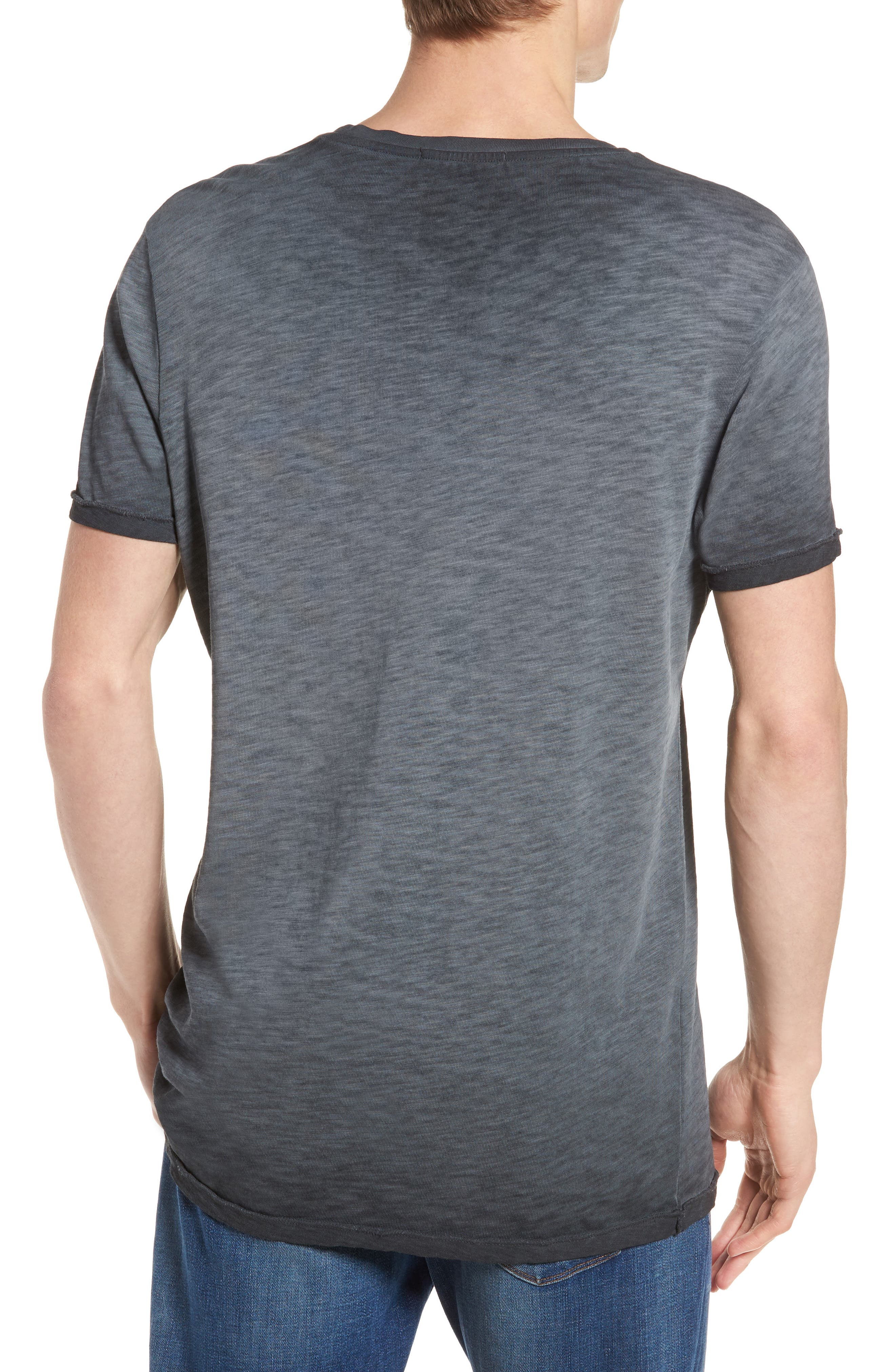 Oil Washed T-Shirt,                             Alternate thumbnail 5, color,