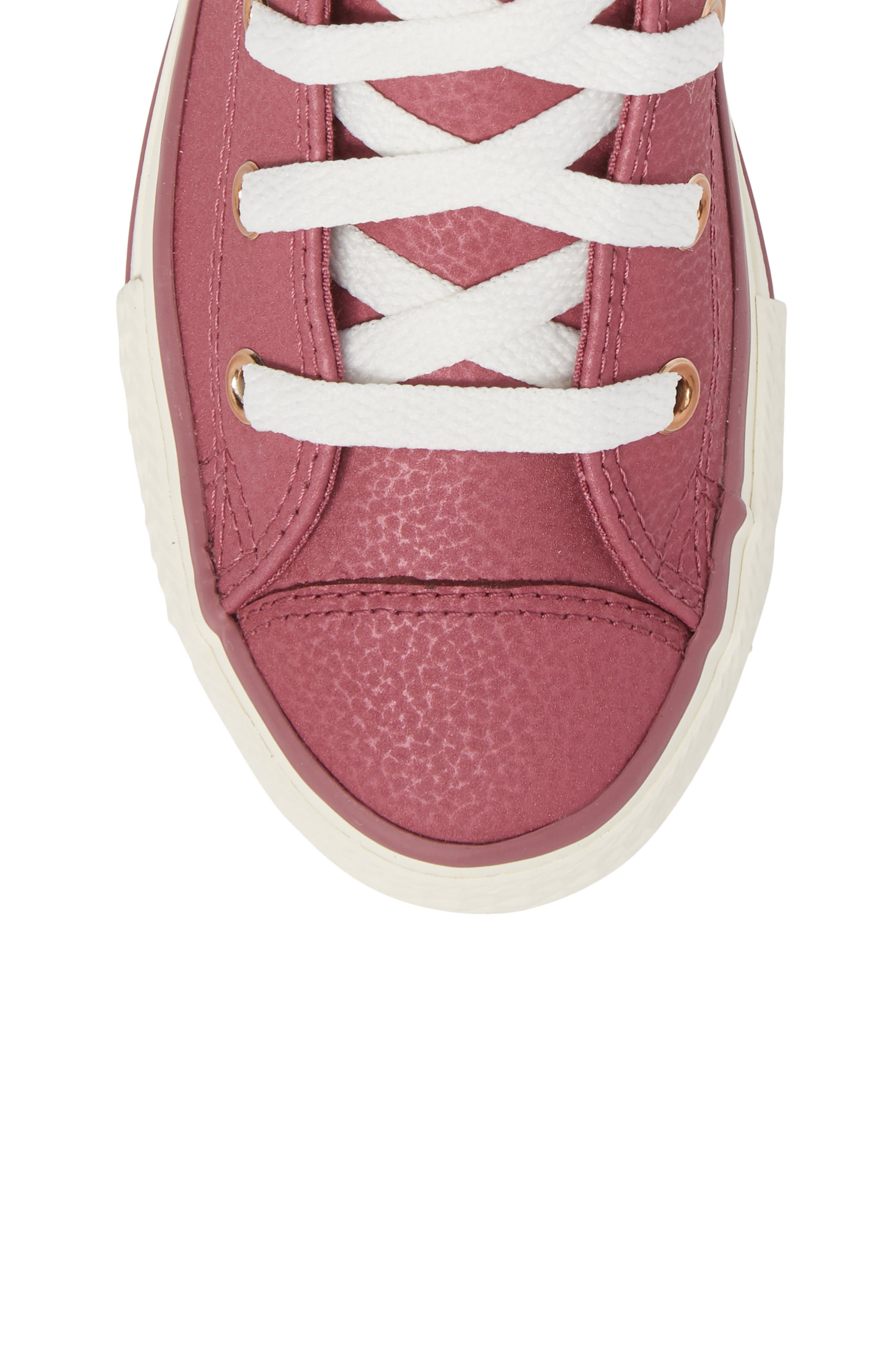 Chuck Taylor<sup>®</sup> All Star<sup>®</sup> High Top Sneaker,                             Alternate thumbnail 5, color,                             600