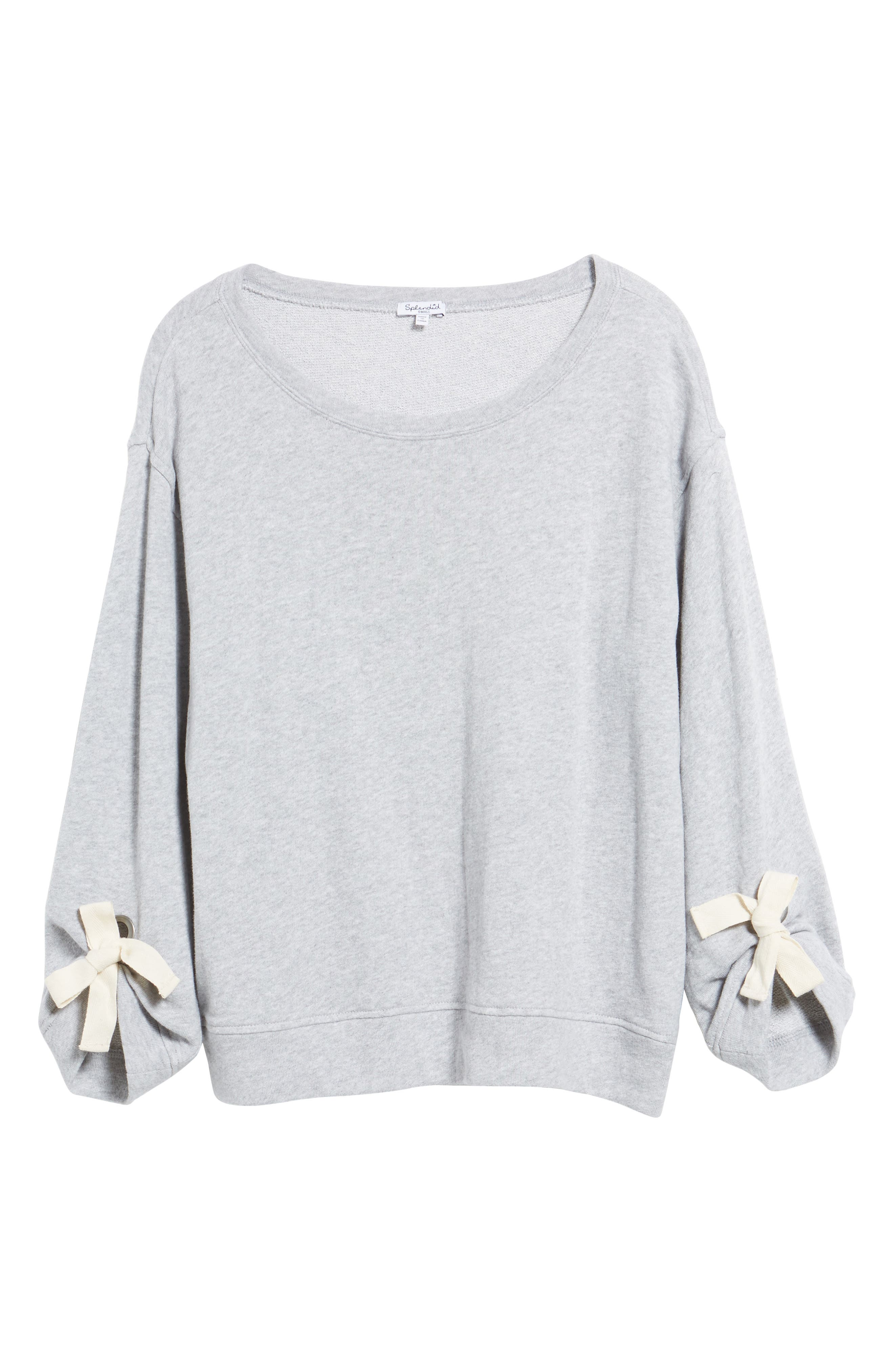 Tie Sleeve Sweater,                             Alternate thumbnail 11, color,
