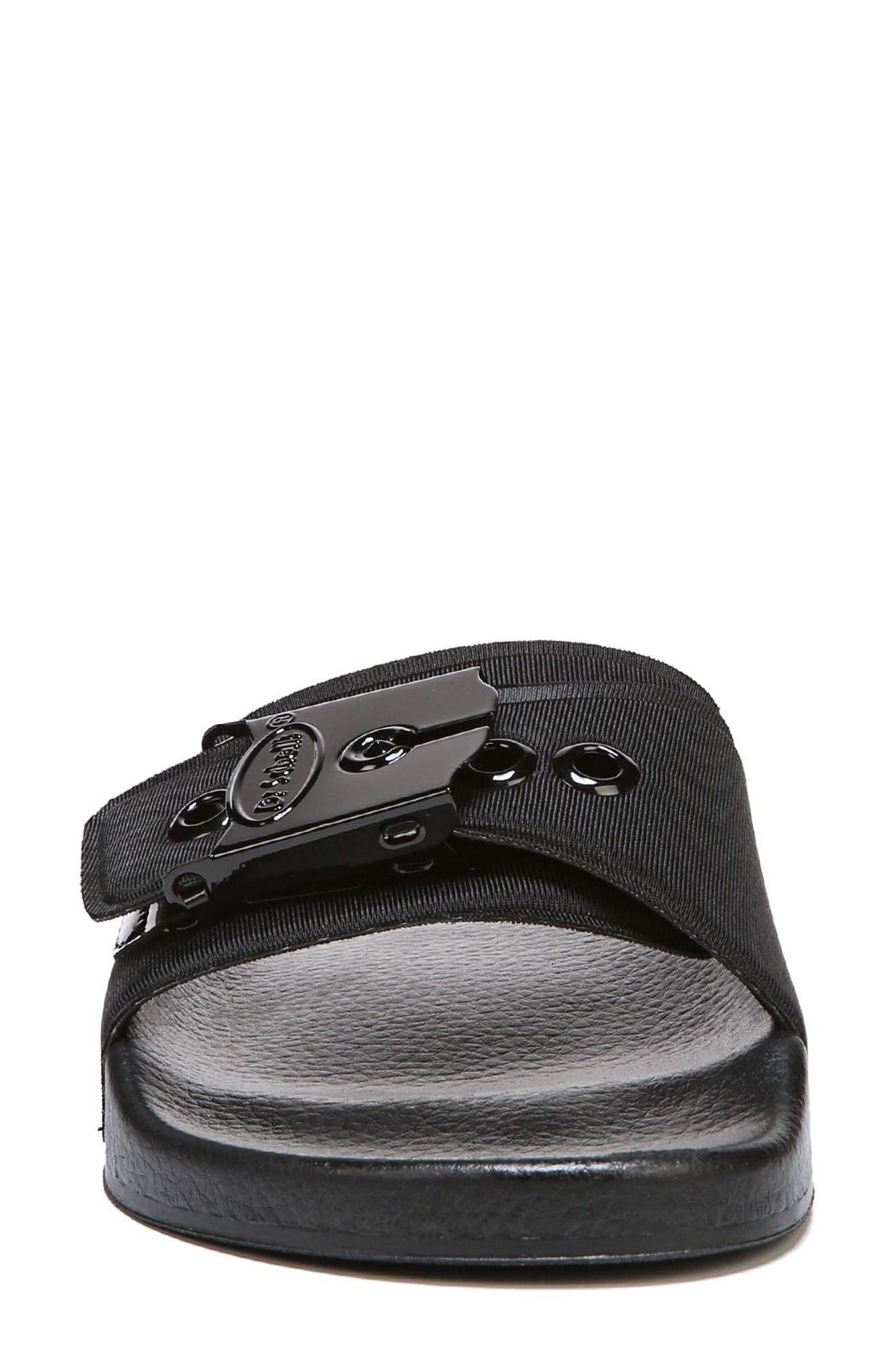 Original Pool Slide Sandal,                             Alternate thumbnail 4, color,                             BLACK
