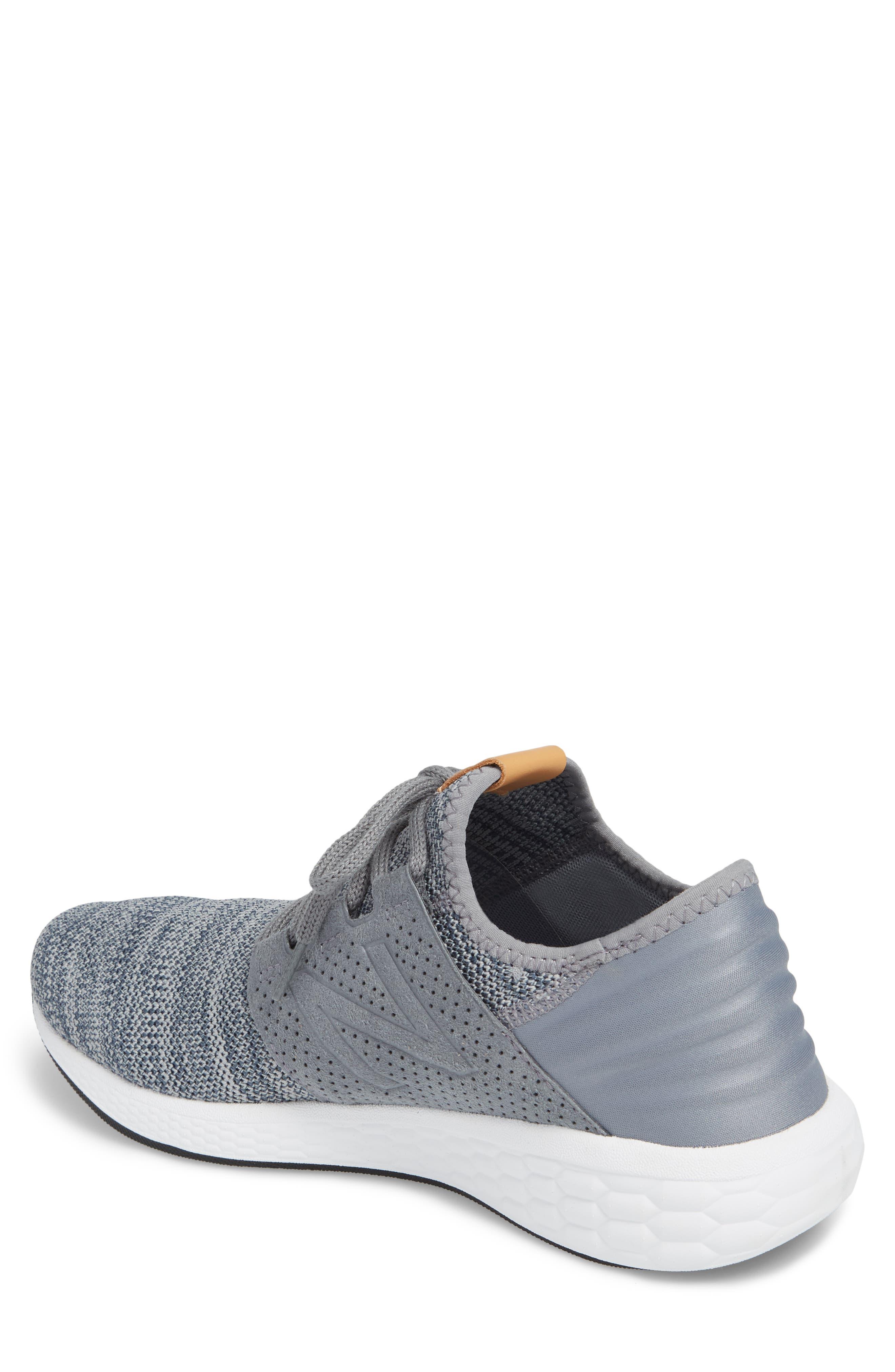 Fresh Foam Cruz v2 Knit Running Shoe,                             Alternate thumbnail 2, color,                             GUNMETAL