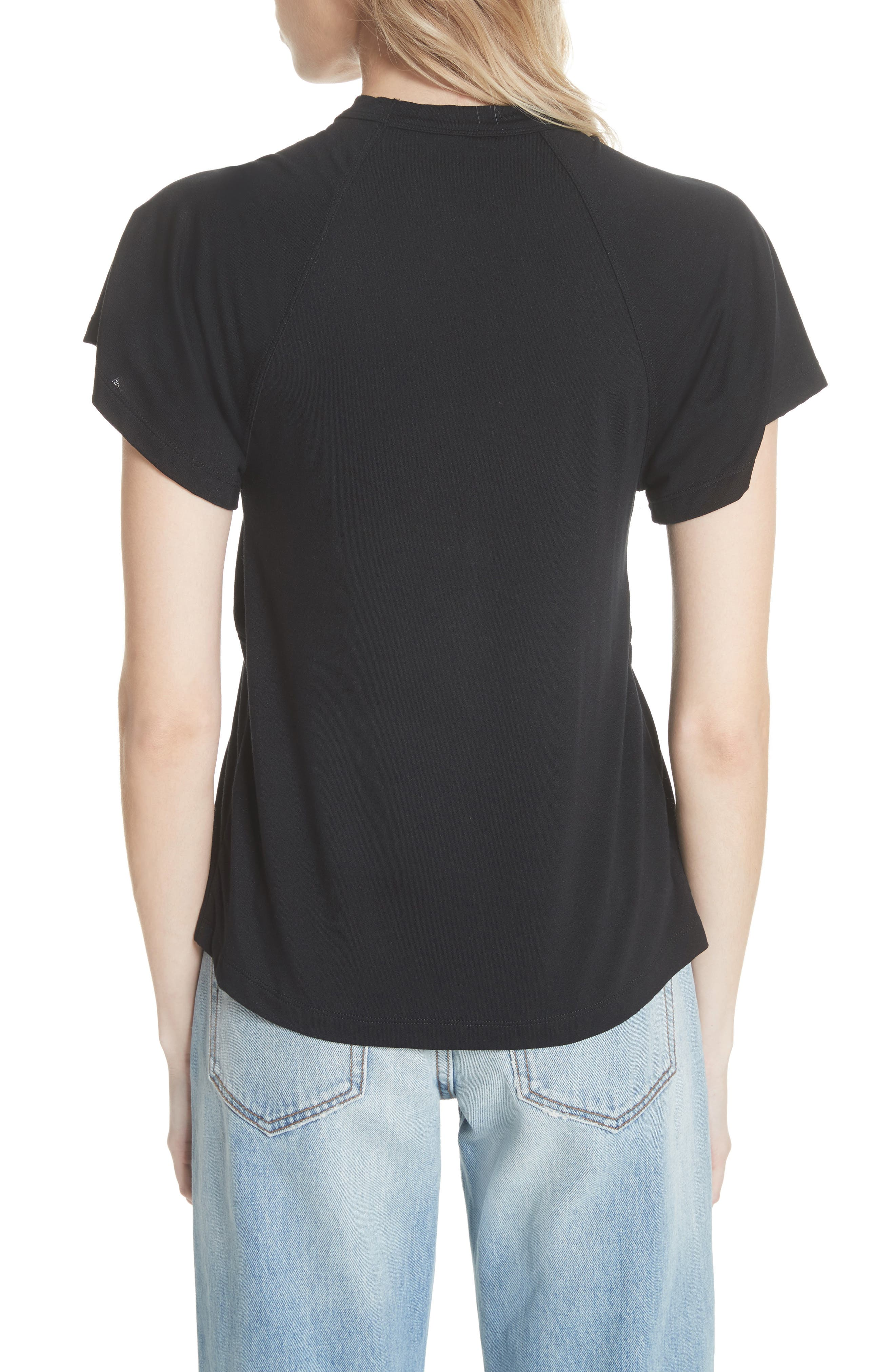 FREE PEOPLE,                             Just a Twist Top,                             Alternate thumbnail 2, color,                             001