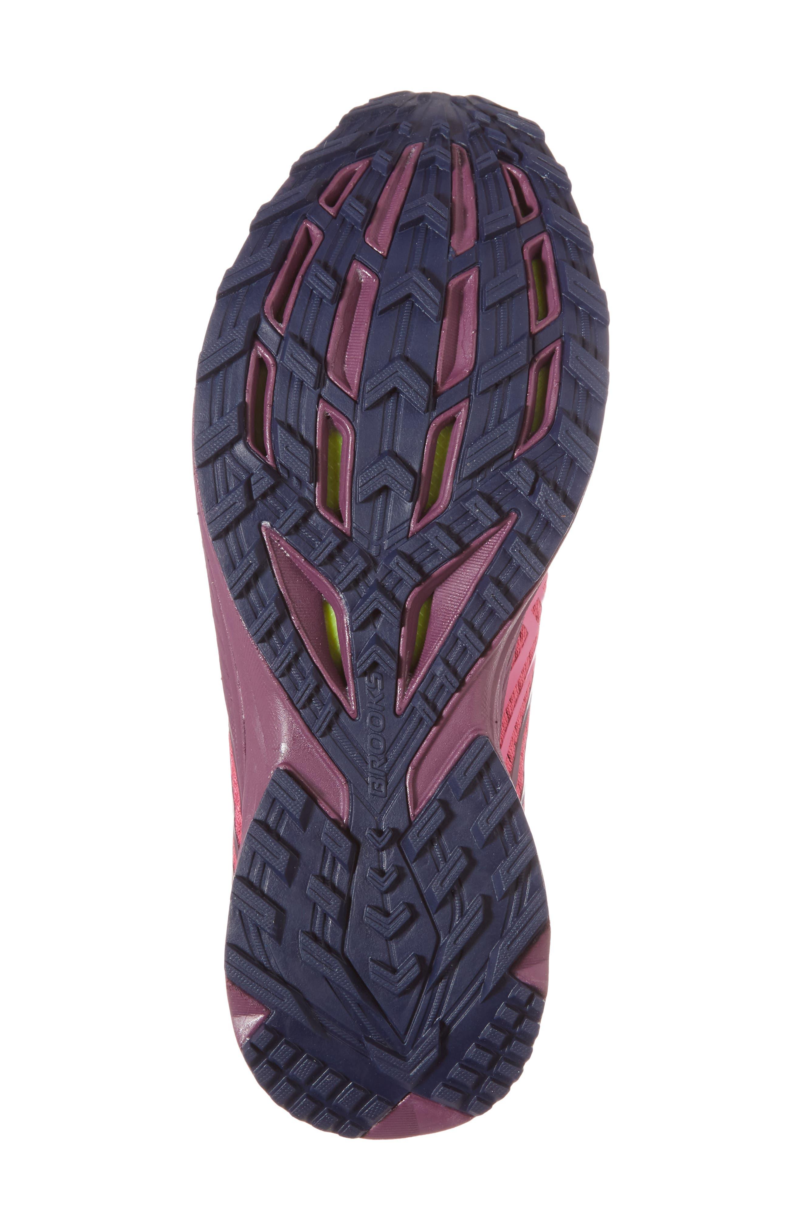 Mazama 2 Trail Running Shoe,                             Alternate thumbnail 6, color,                             PINK/ PLUM/ NAVY