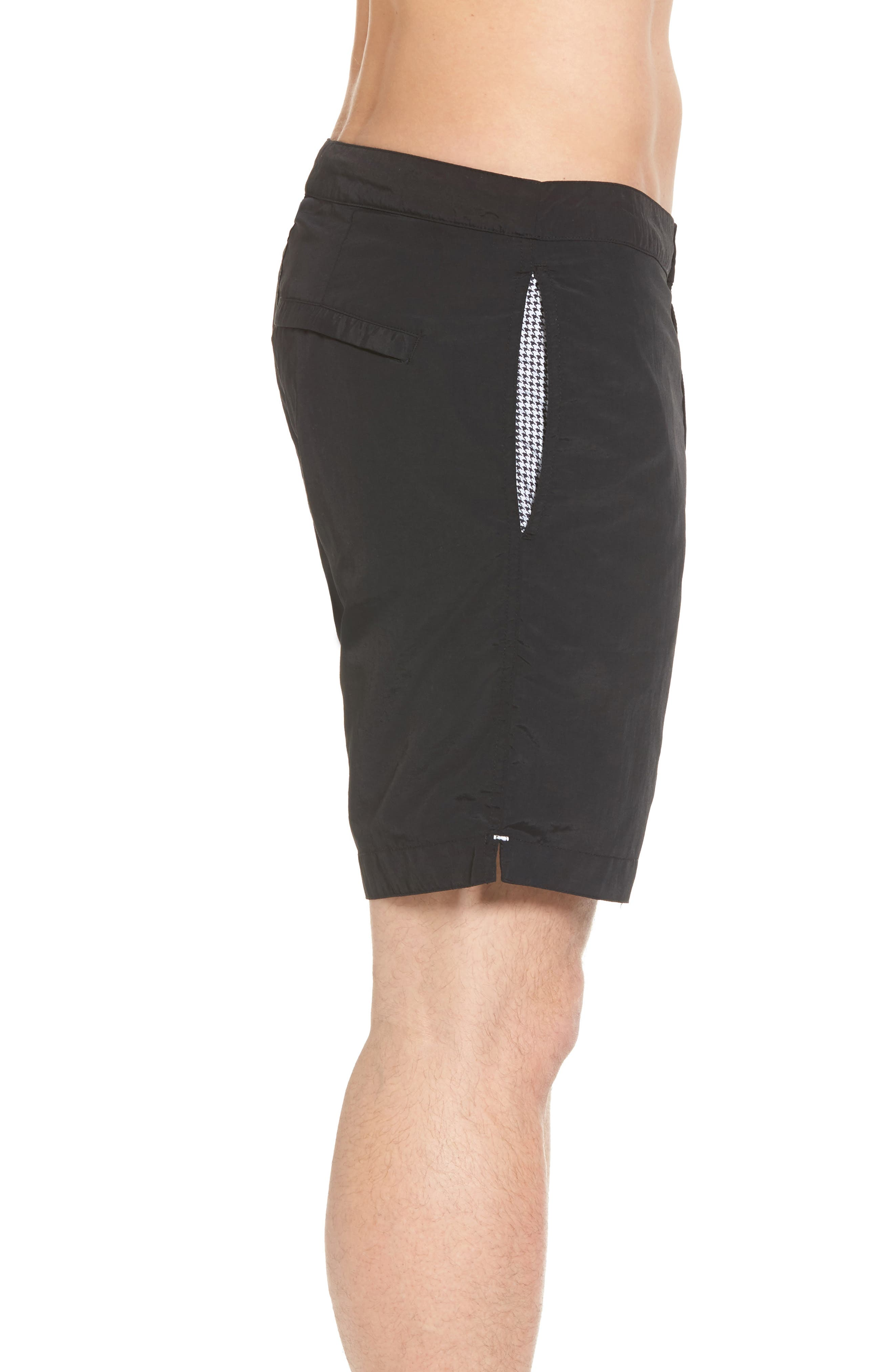 'Aruba - Island' Tailored Fit 8.5 Inch Board Shorts,                             Alternate thumbnail 3, color,                             001