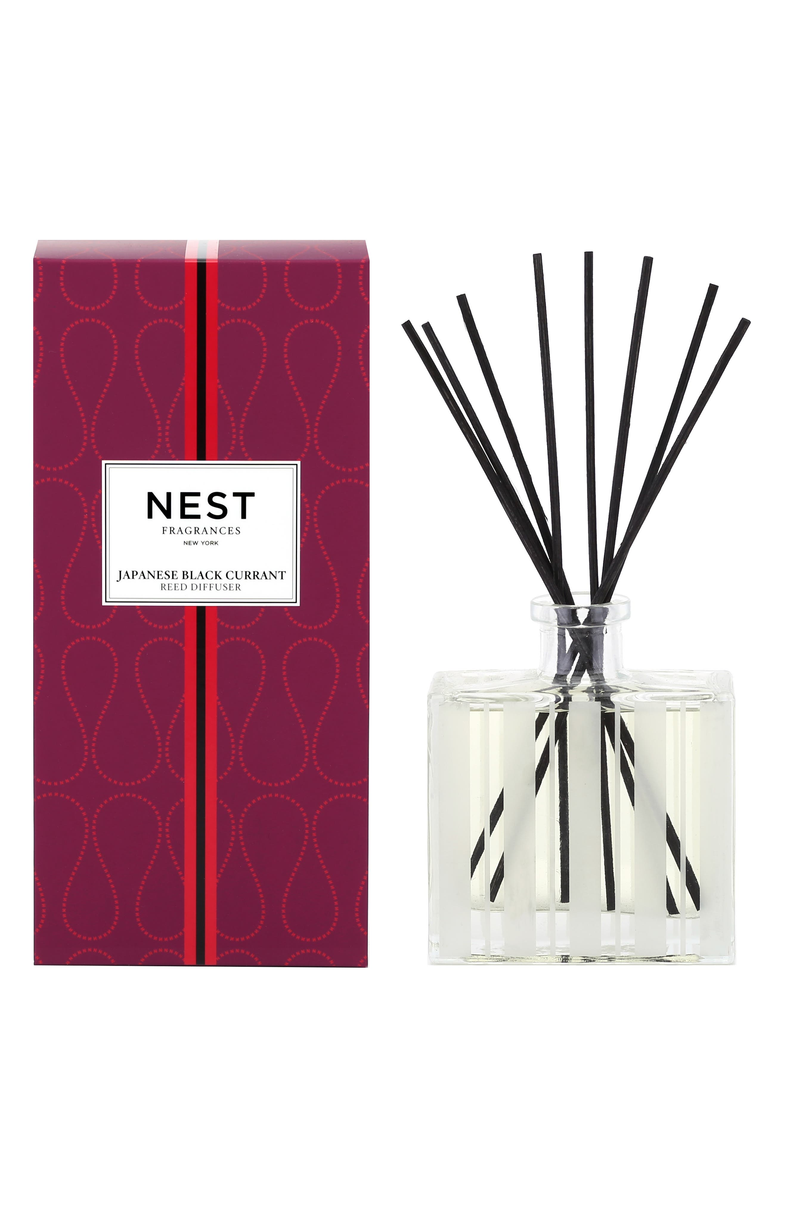 Japanese Black Currant Reed Diffuser,                             Alternate thumbnail 2, color,                             NO COLOR