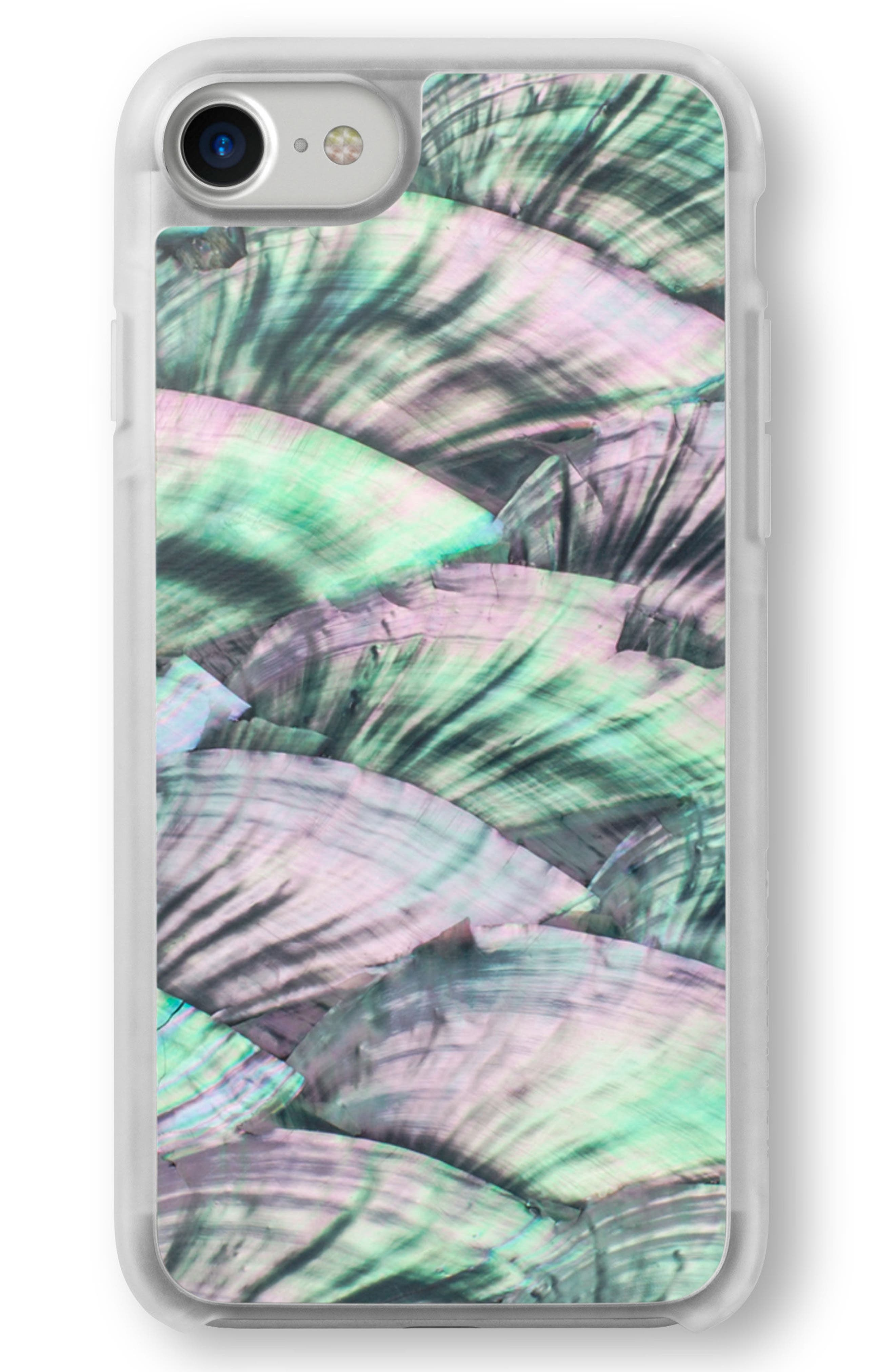 Green Abalone iPhone 6/6s/7/8 & 6/6s/7/8 Plus Case,                             Alternate thumbnail 2, color,