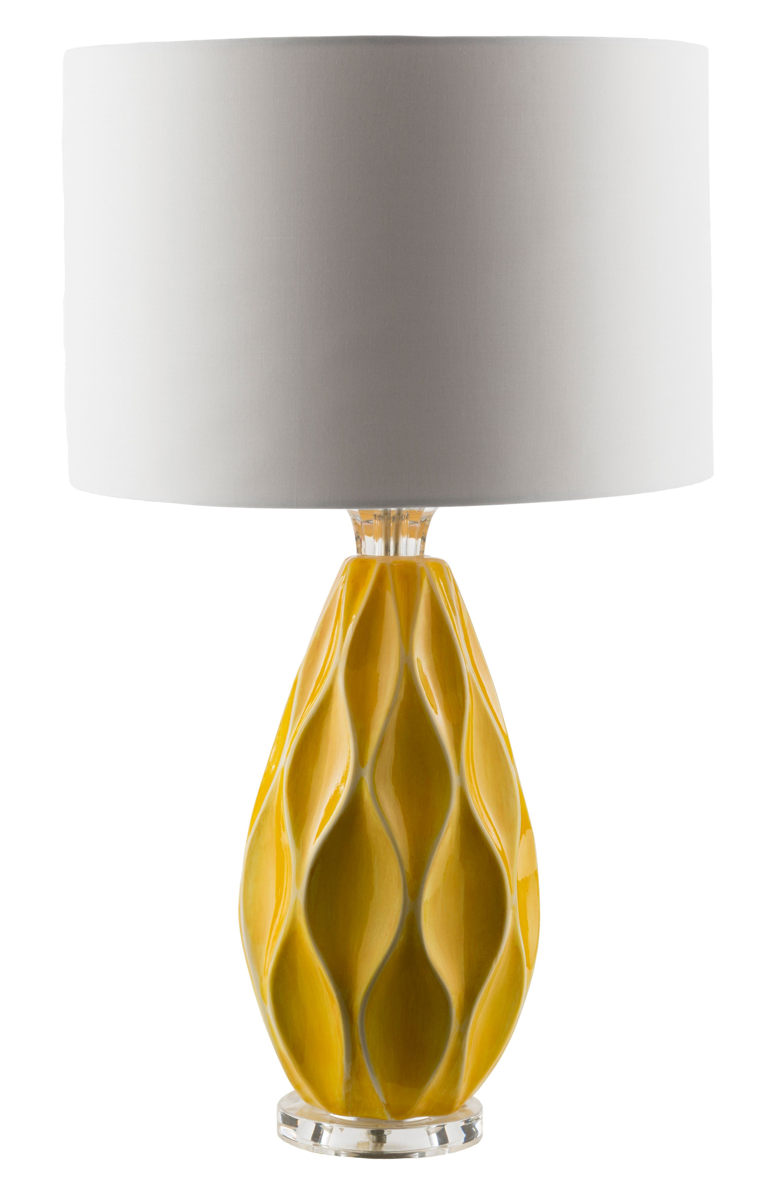 Surya Home Bethany Table Lamp Size One Size  Yellow