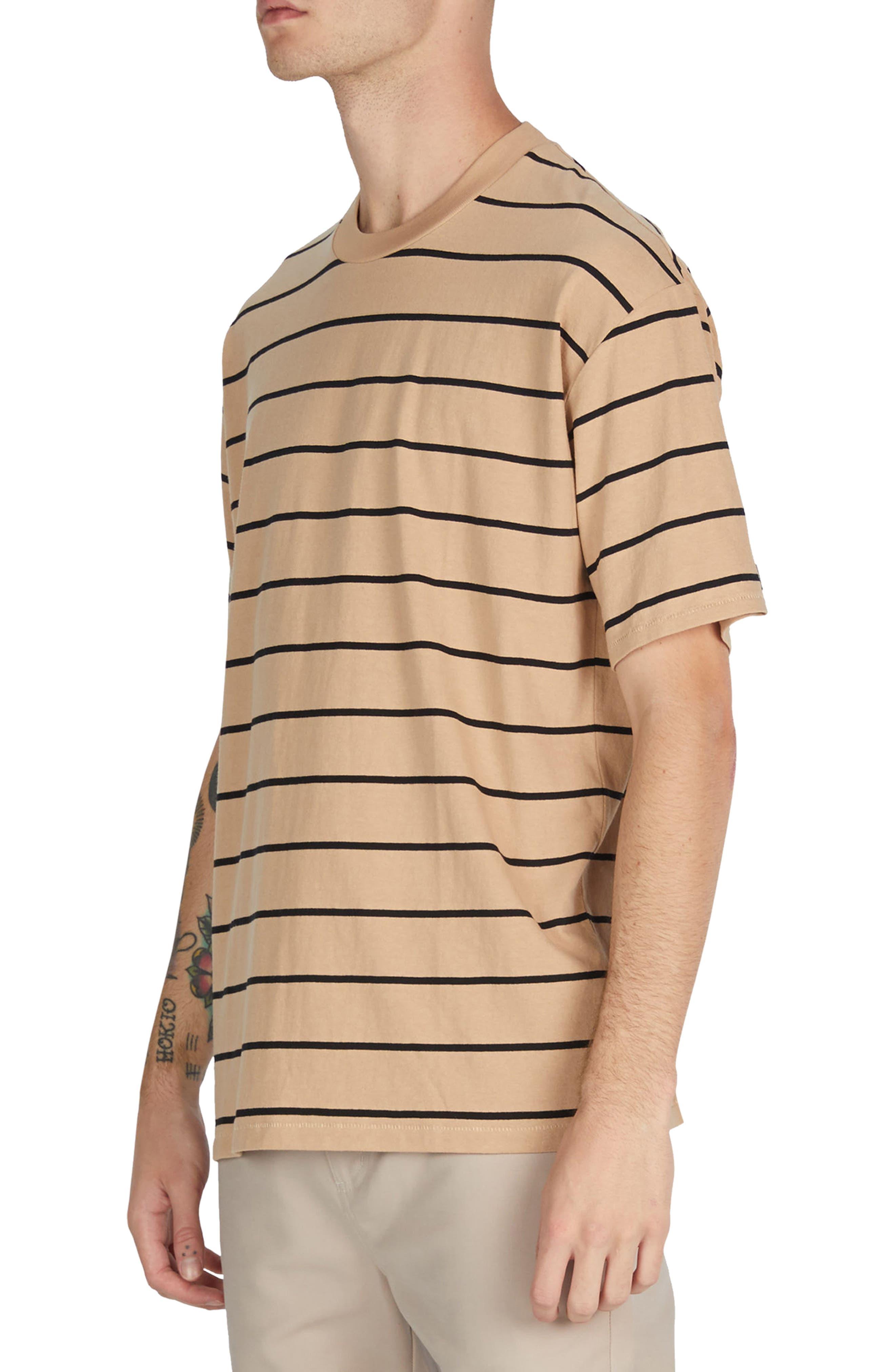 Stripe Box T-Shirt,                             Alternate thumbnail 4, color,                             273