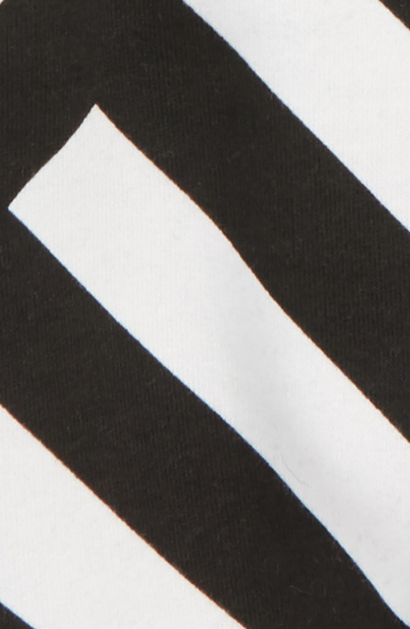 Stripe Baggy Pants,                             Alternate thumbnail 2, color,                             003