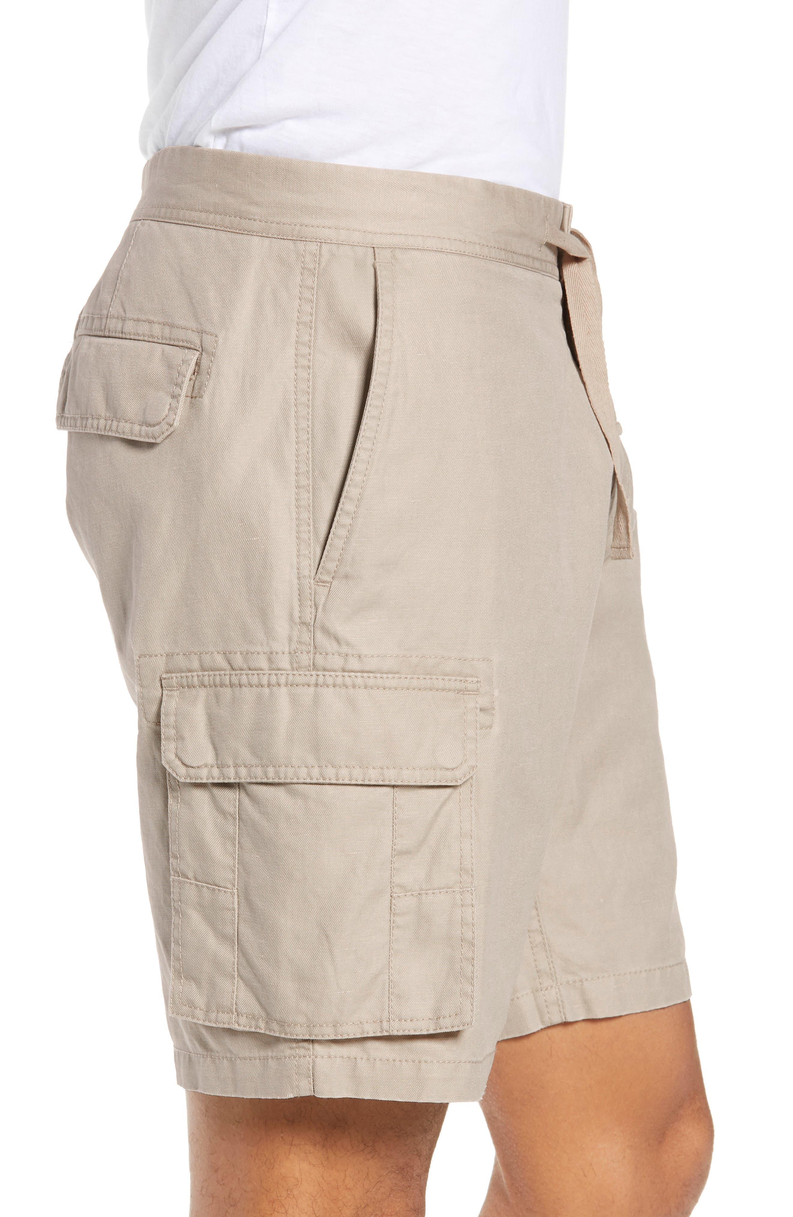 Sandyford Cargo Shorts,                             Alternate thumbnail 3, color,                             NATURAL