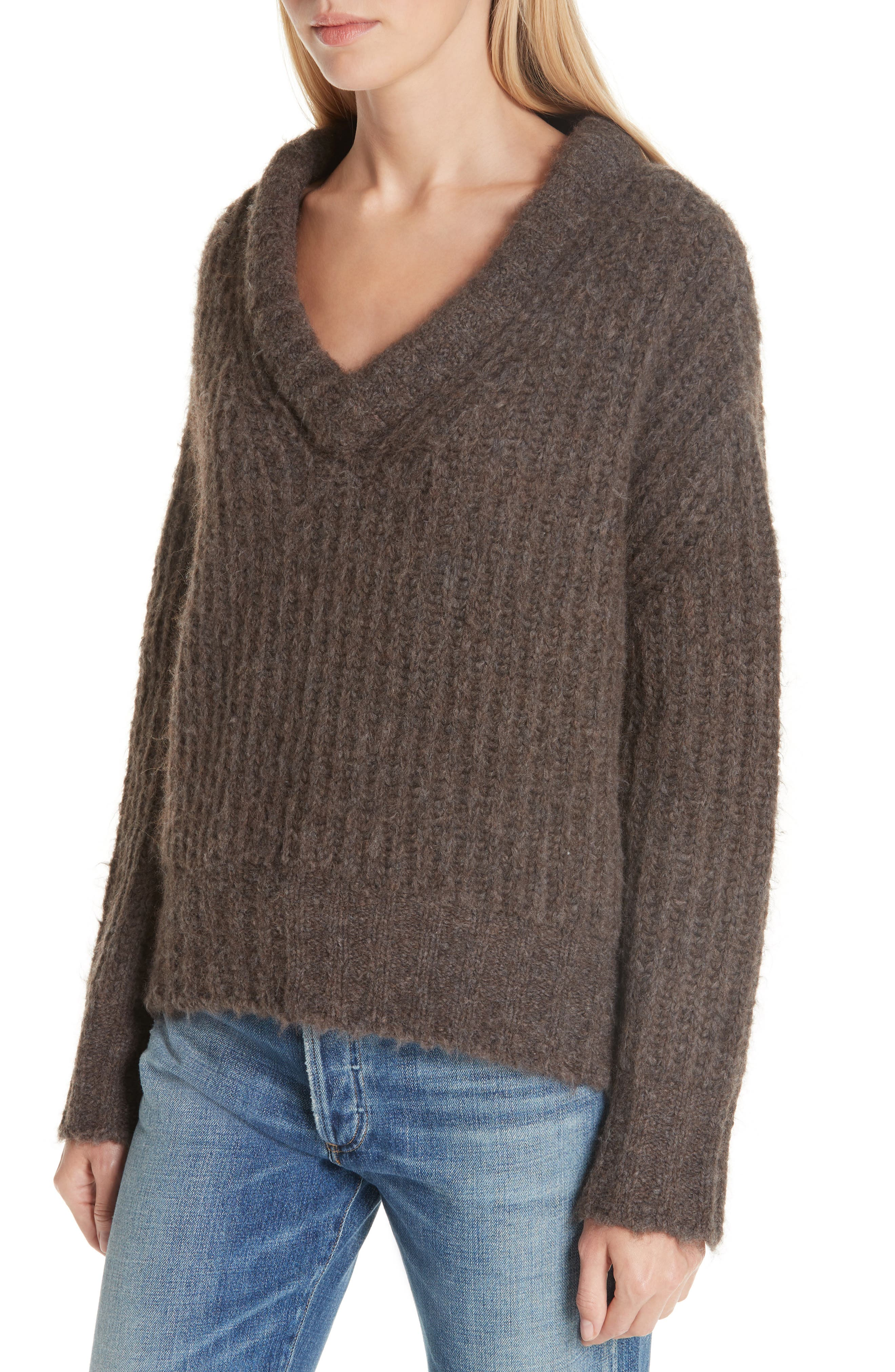 Fabiana Boxy Sweater,                             Alternate thumbnail 4, color,                             230