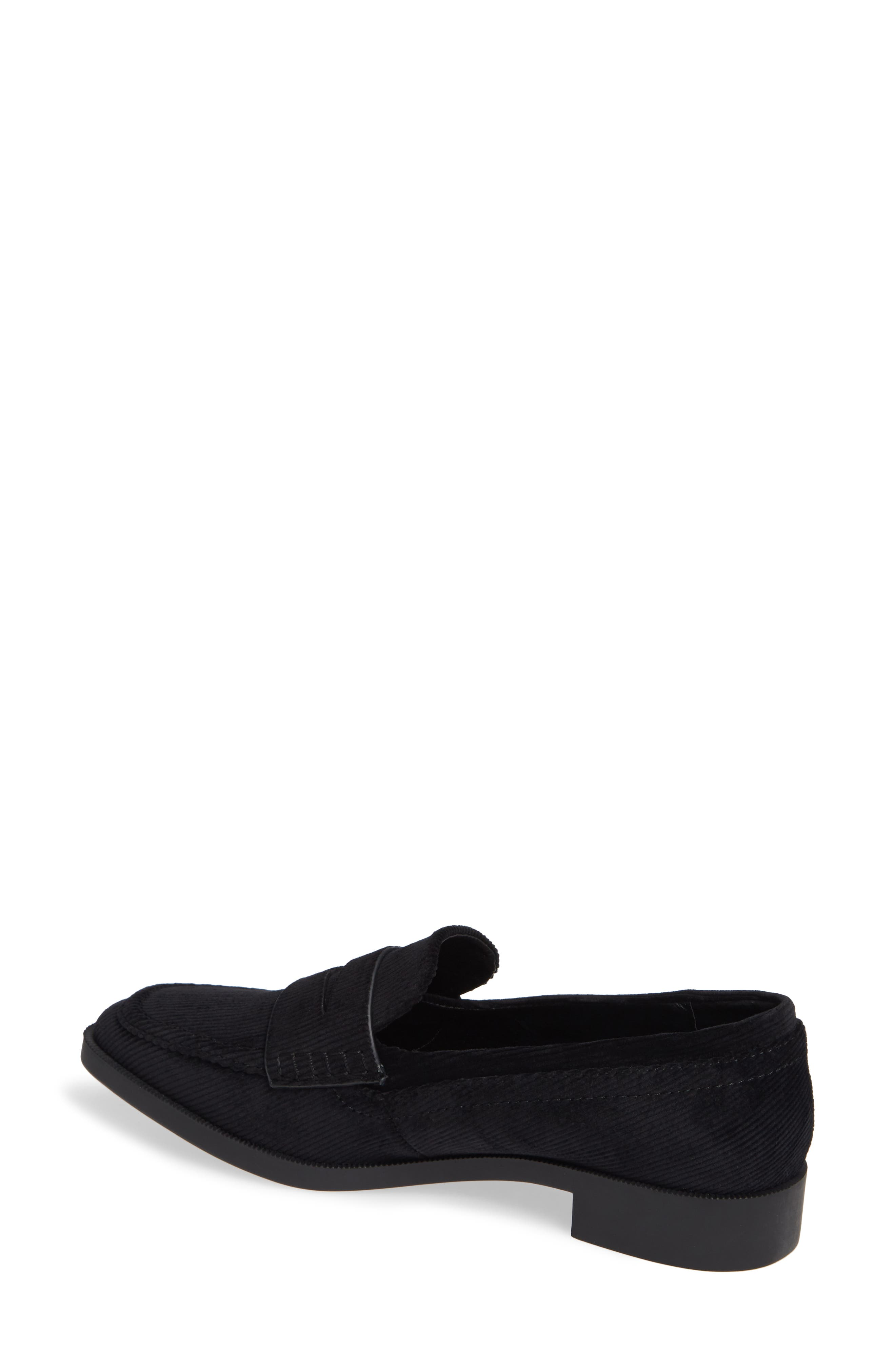 Diplomat Penny Loafer,                             Alternate thumbnail 2, color,                             BLACK FABRIC
