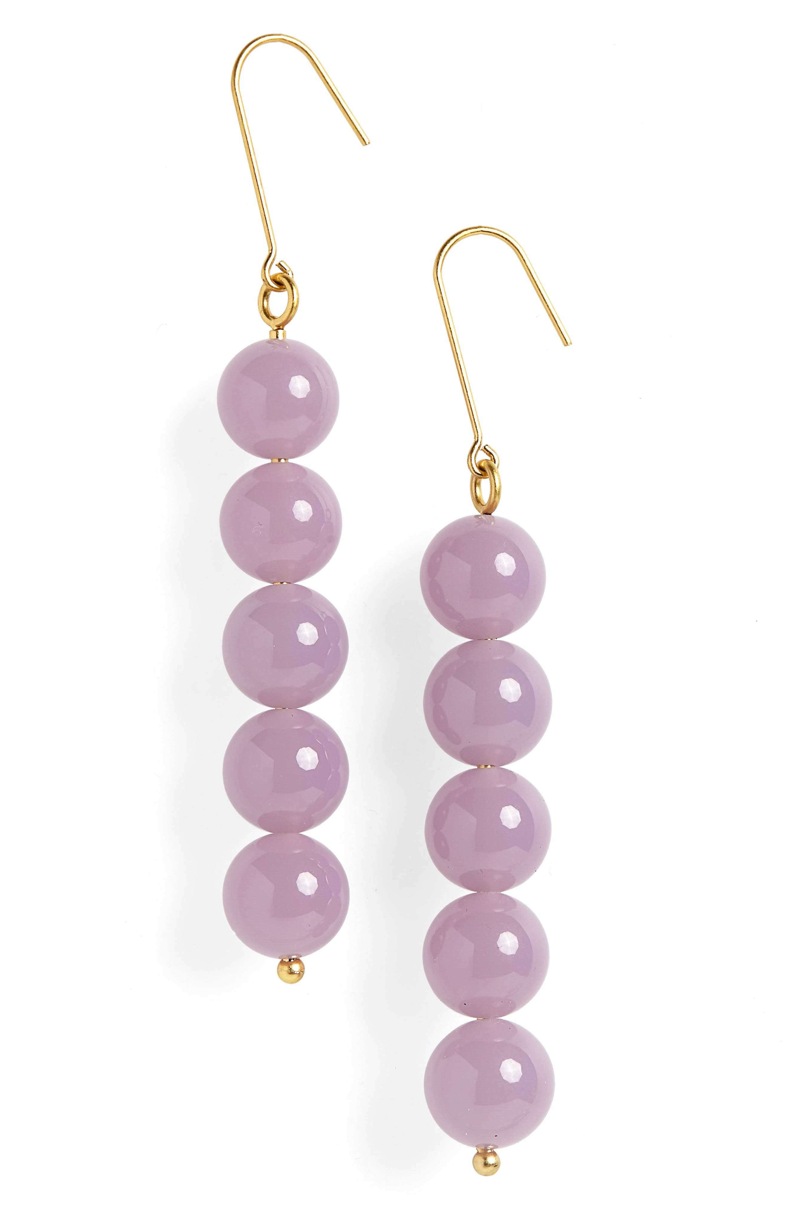 Ball Drop Earrings,                             Main thumbnail 1, color,                             WISTERIA DOVE
