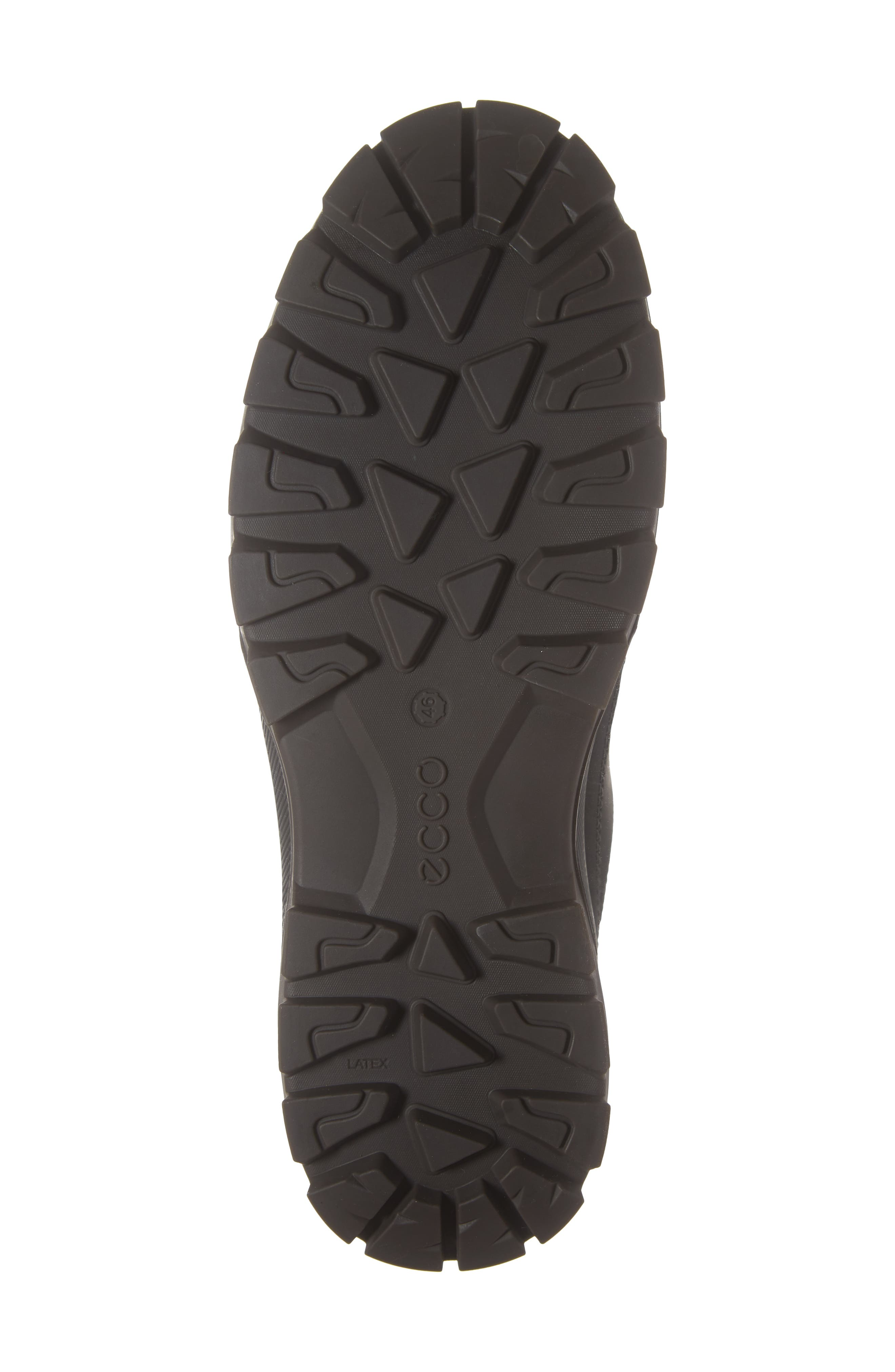 Rugged Track Low Gore-Tex<sup>®</sup> Oxford,                             Alternate thumbnail 6, color,                             BLACK LEATHER