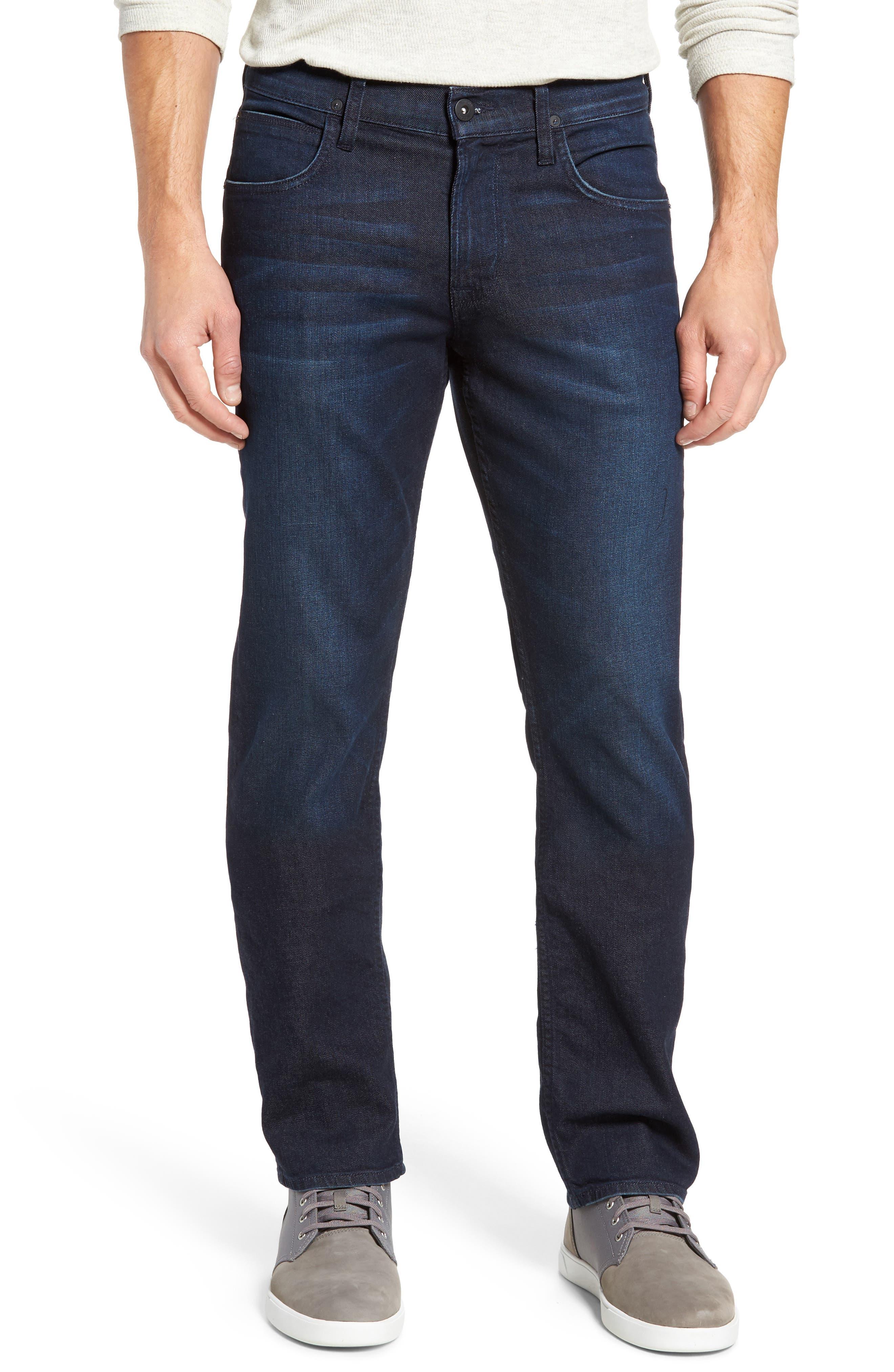 Byron Slim Straight Leg Jeans,                             Main thumbnail 1, color,
