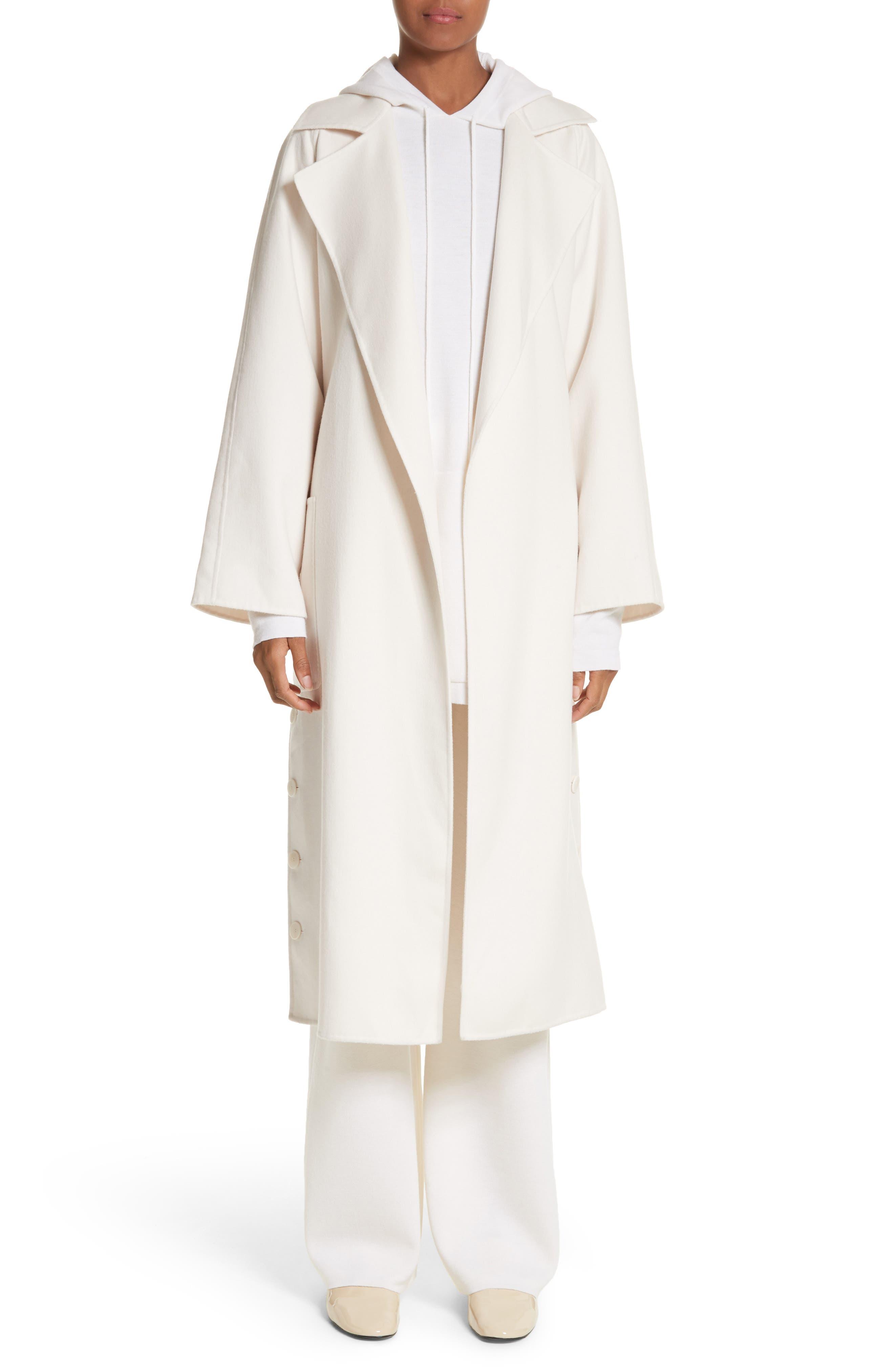 Alacre Wool & Cashmere Coat,                             Main thumbnail 1, color,                             110