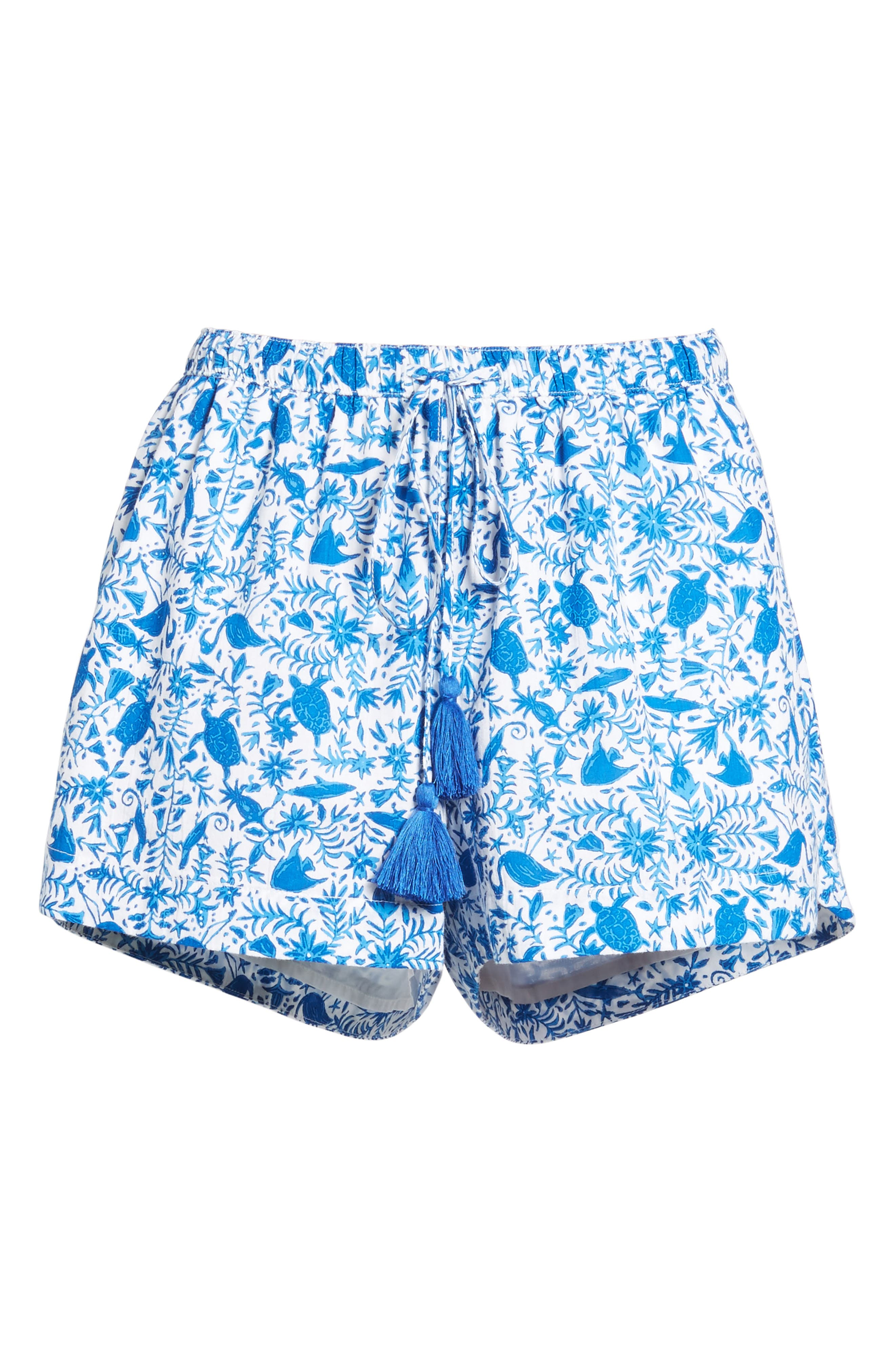 Bahamas Otomi Pull On Shorts,                             Alternate thumbnail 6, color,                             413
