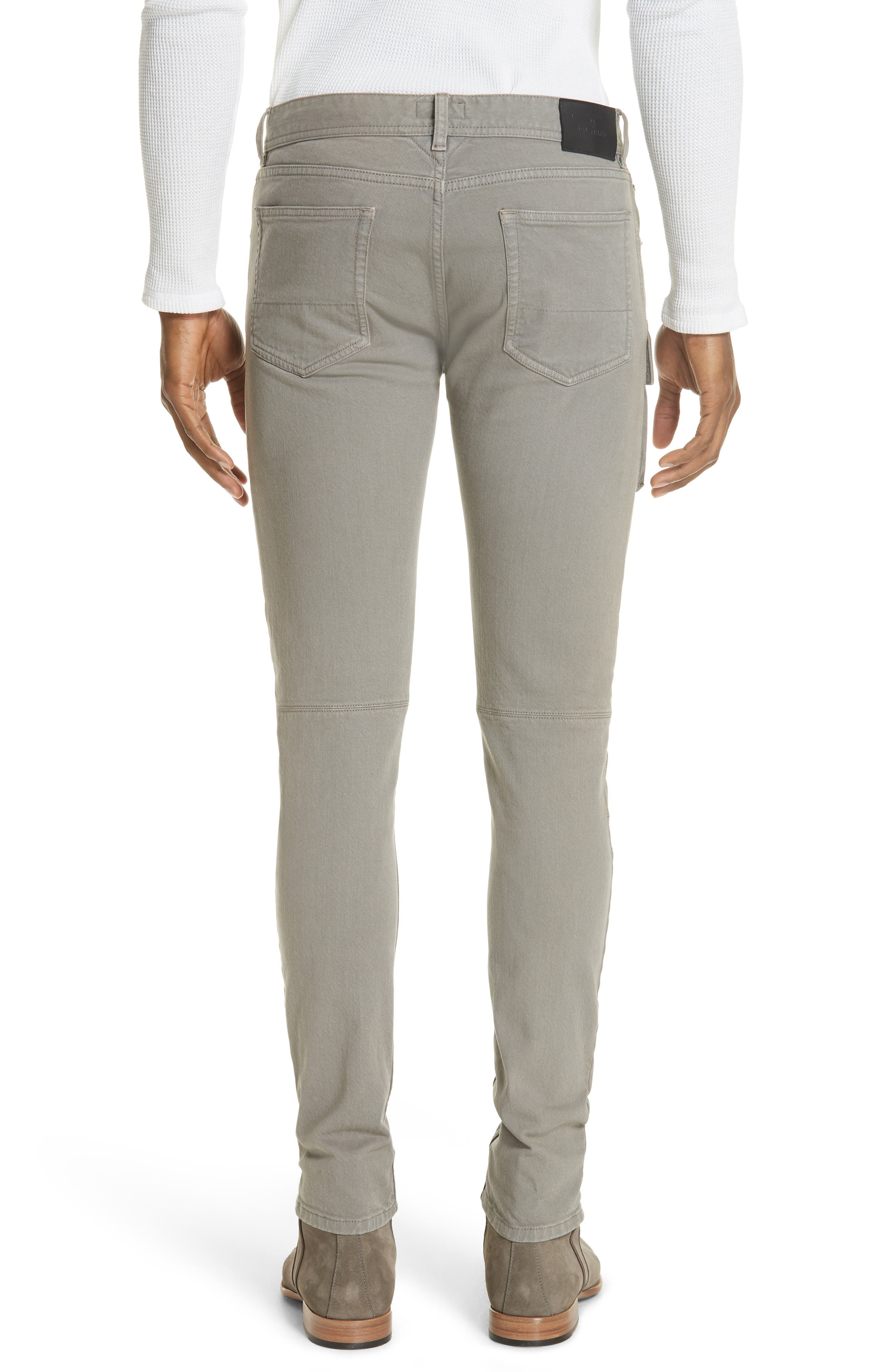 Polmont Cargo Denim Jeans,                             Alternate thumbnail 2, color,                             SMOKE GREY