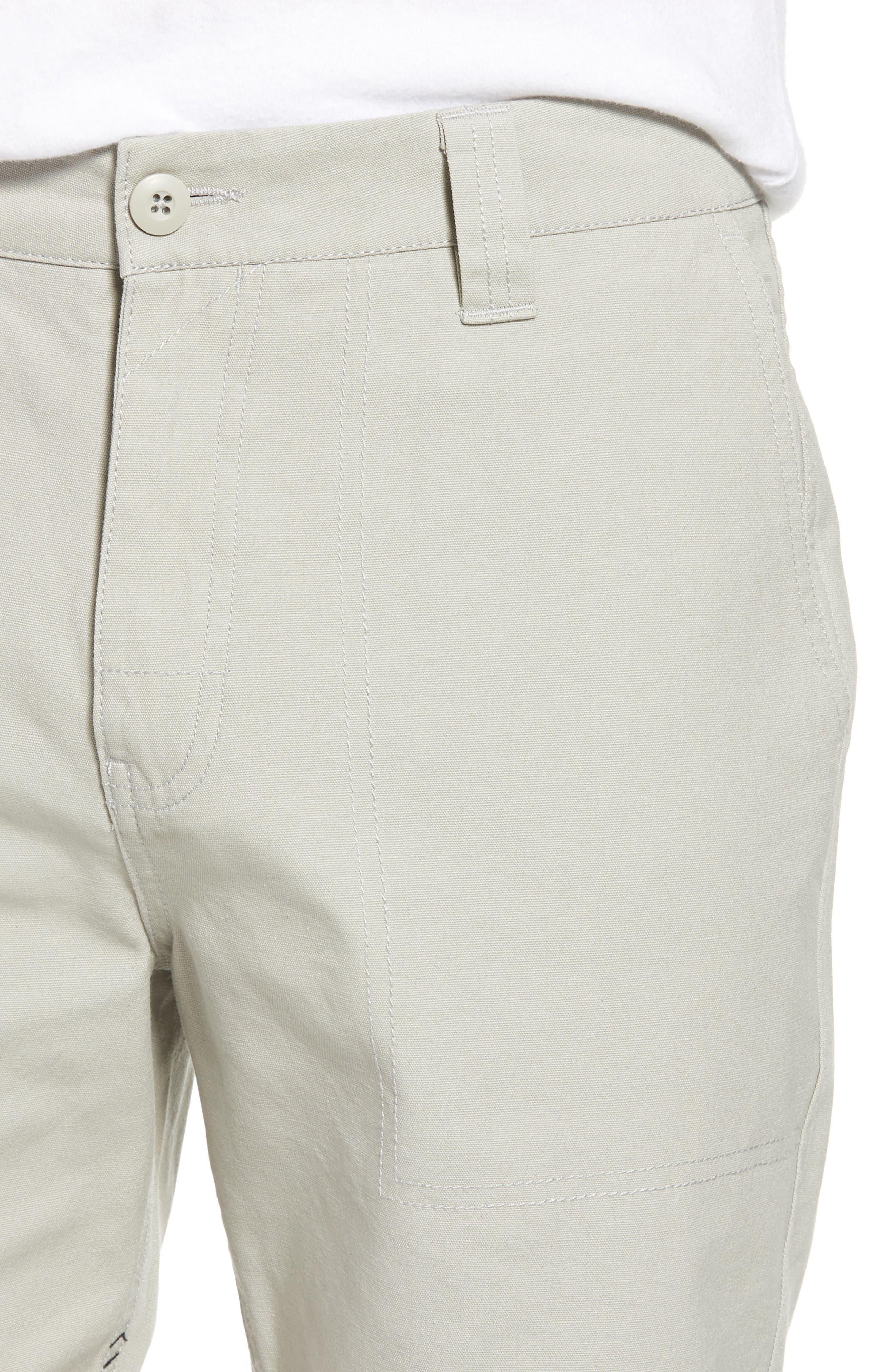 Collins Canvas Shorts,                             Alternate thumbnail 7, color,