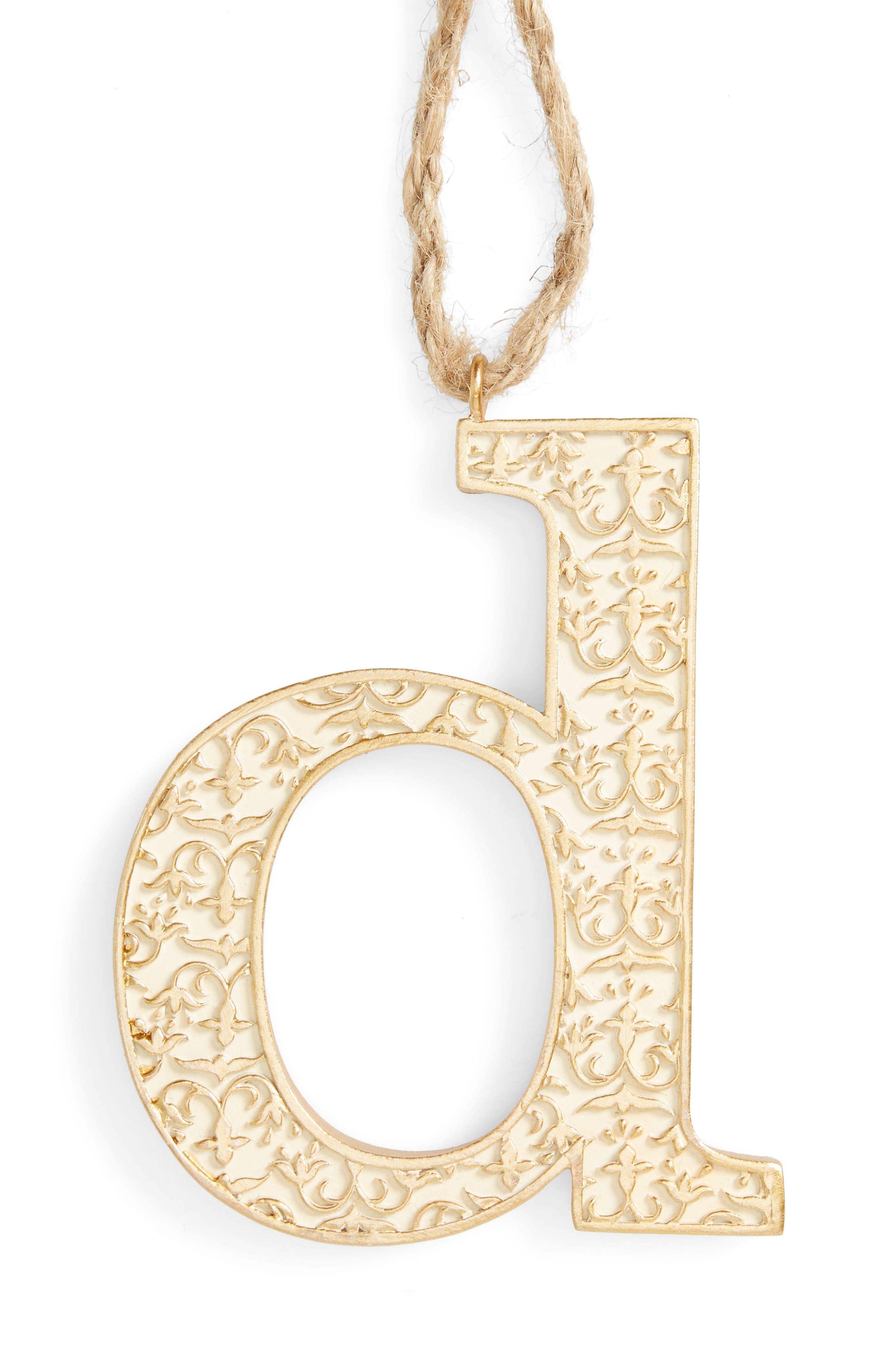 Letter Ornament,                             Main thumbnail 4, color,