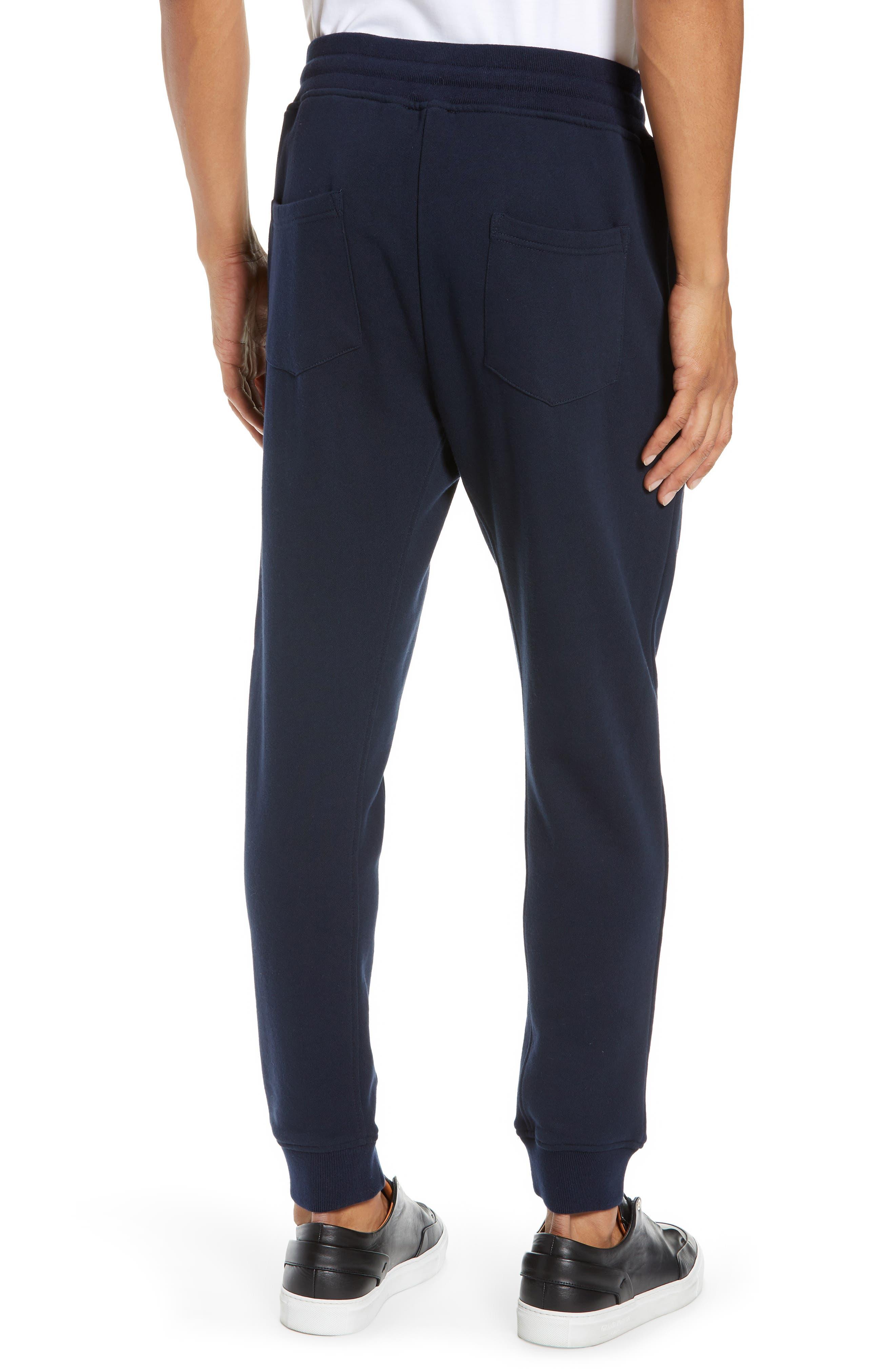 Slim Fit Jogger Pants,                             Alternate thumbnail 2, color,                             NAVY