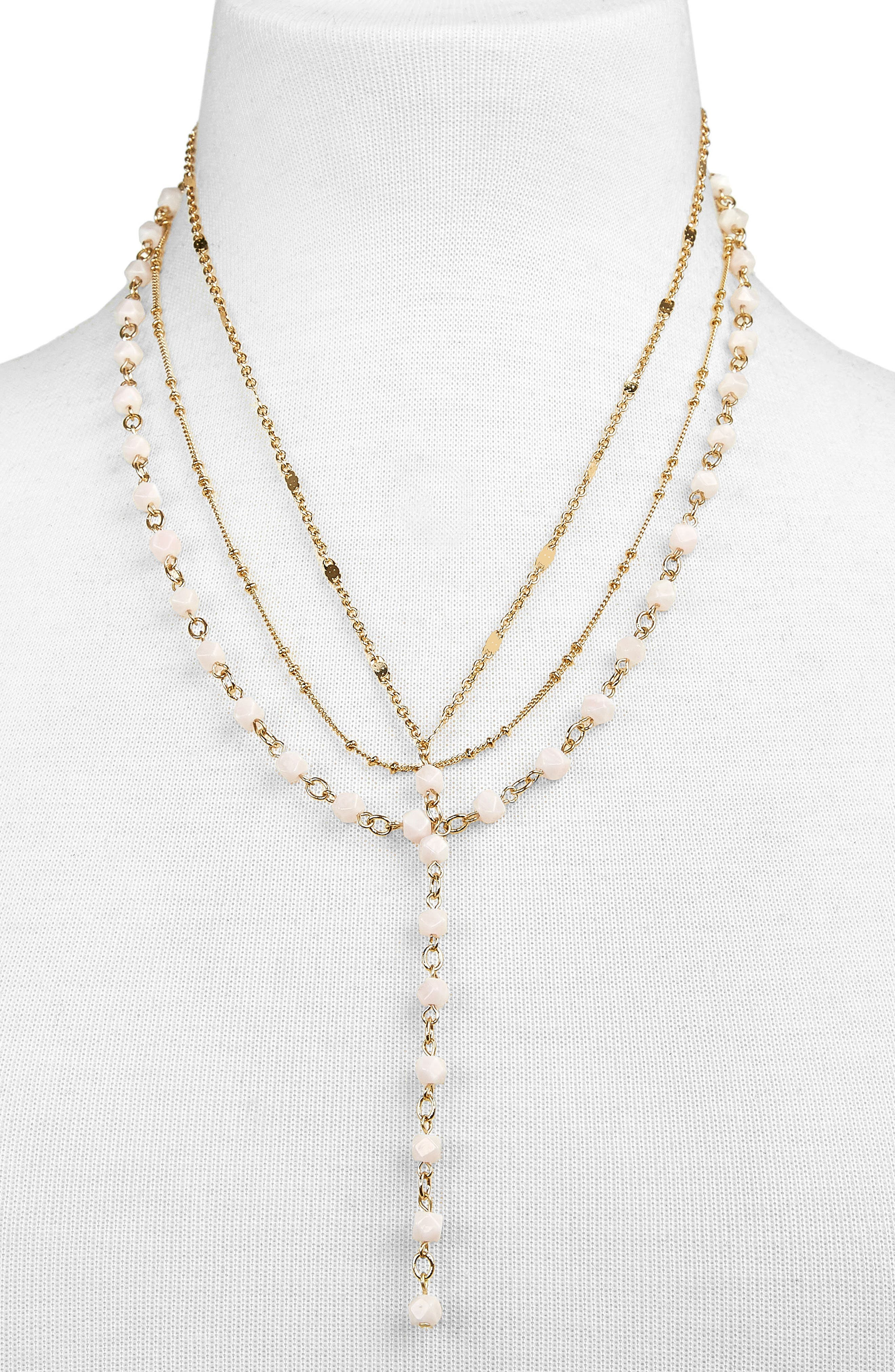Odelia Layered Y-Chain Necklace,                             Alternate thumbnail 2, color,                             689