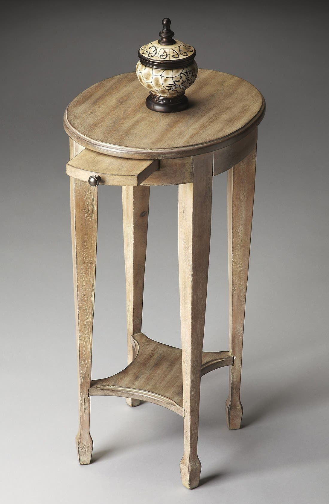 Wood Accent Table,                             Alternate thumbnail 2, color,                             BROWN