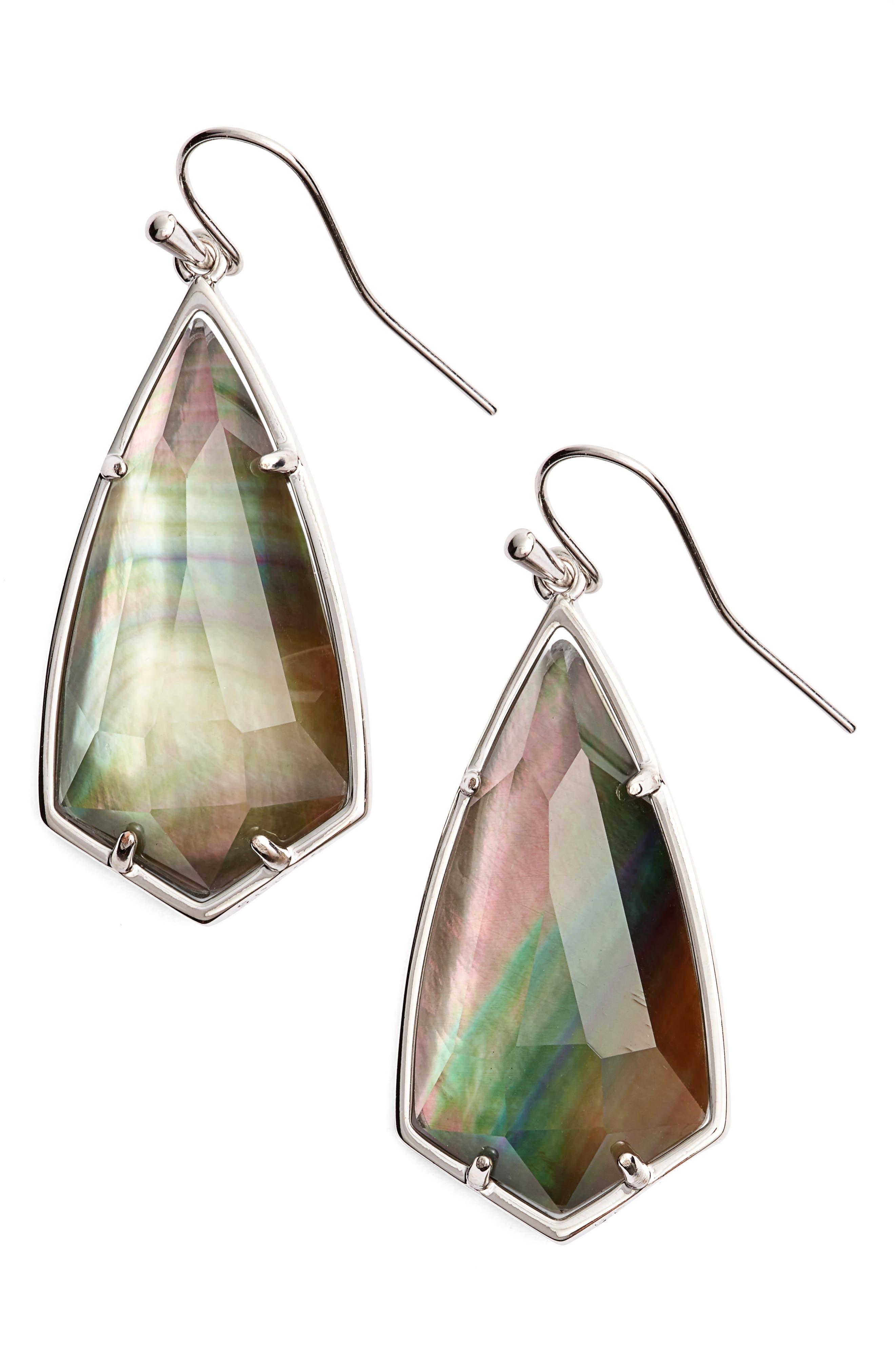 Carla Semiprecious Stone Drop Earrings,                             Main thumbnail 3, color,