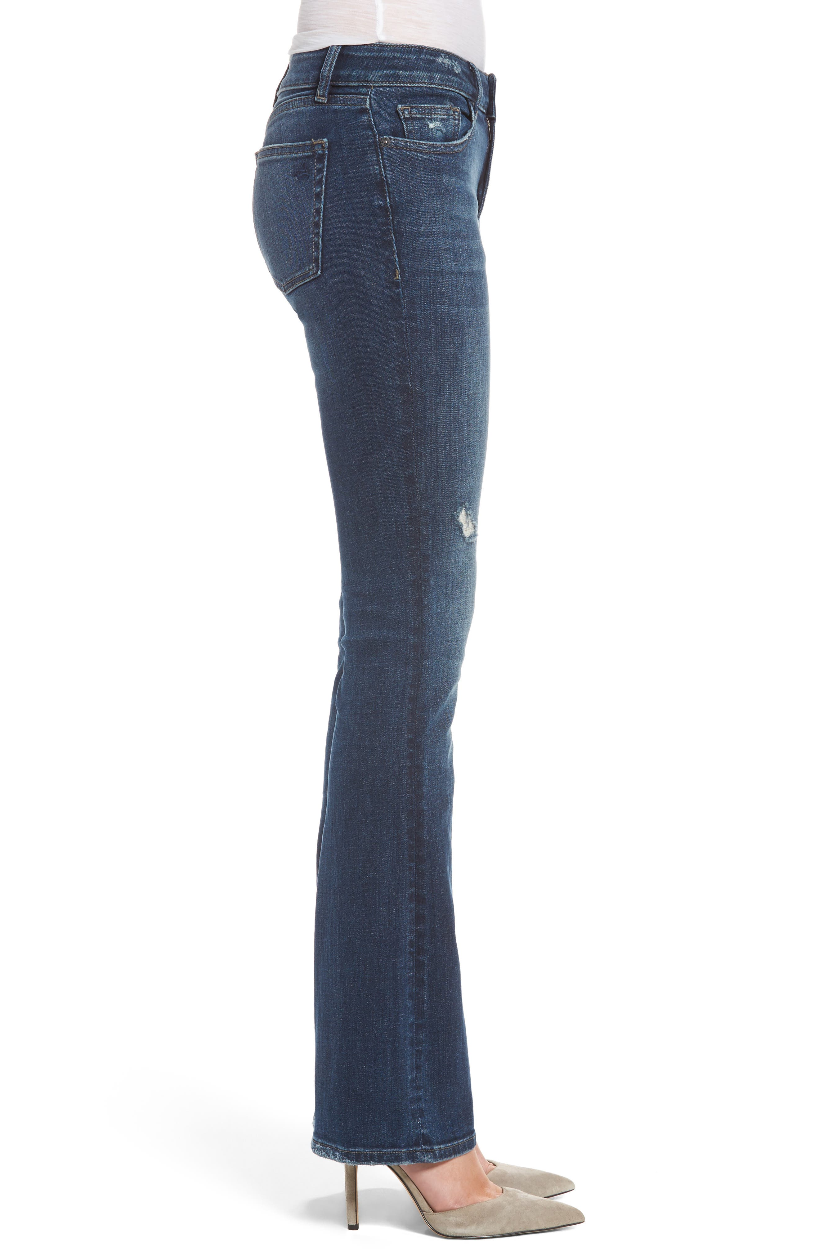 Bridget Bootcut Jeans,                             Alternate thumbnail 3, color,                             425