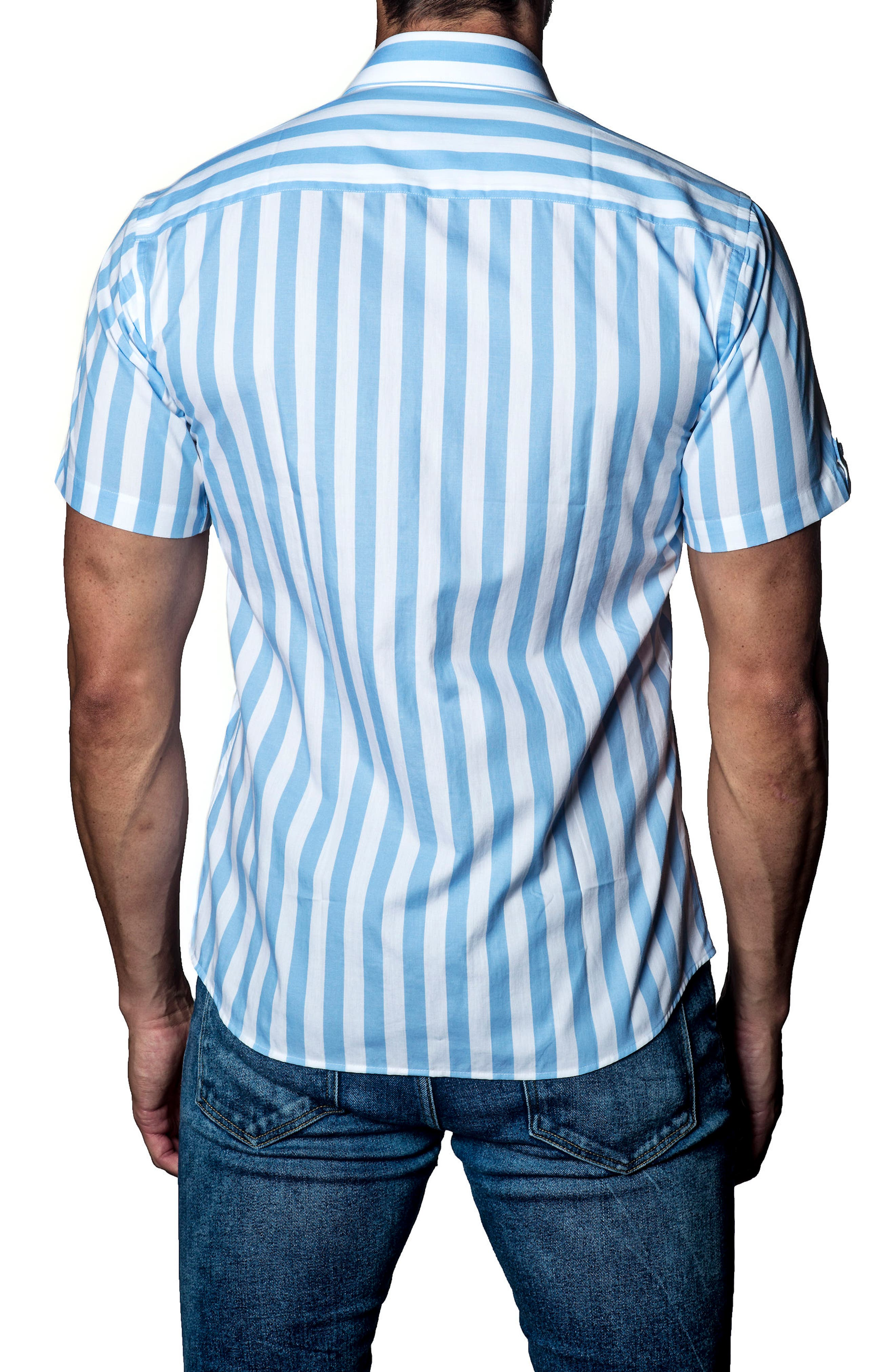 Stripe Sport Shirt,                             Alternate thumbnail 2, color,                             160