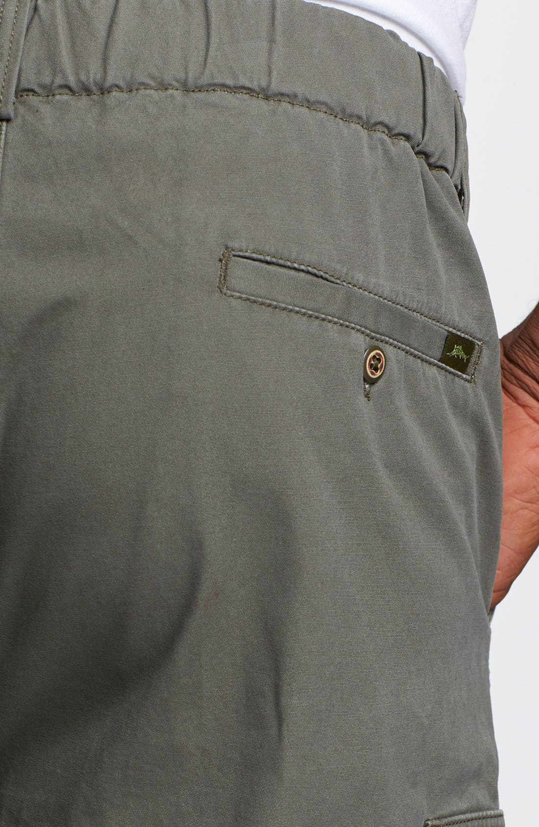 Relax 'Survivor' Cargo Shorts,                             Alternate thumbnail 3, color,                             MOSS