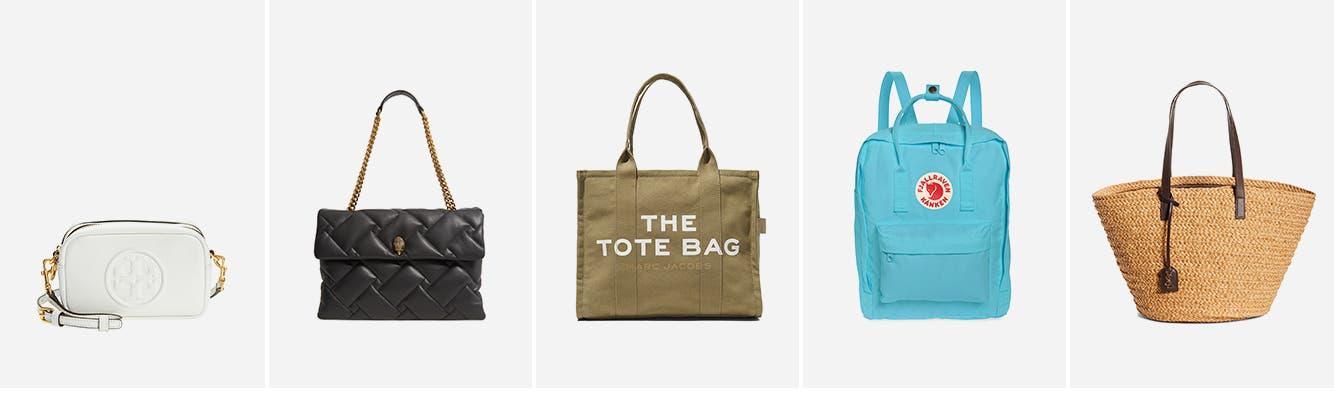 Women's handbags: crossbody bag, shoulder bag, tote bag, backpack and designer handbag.
