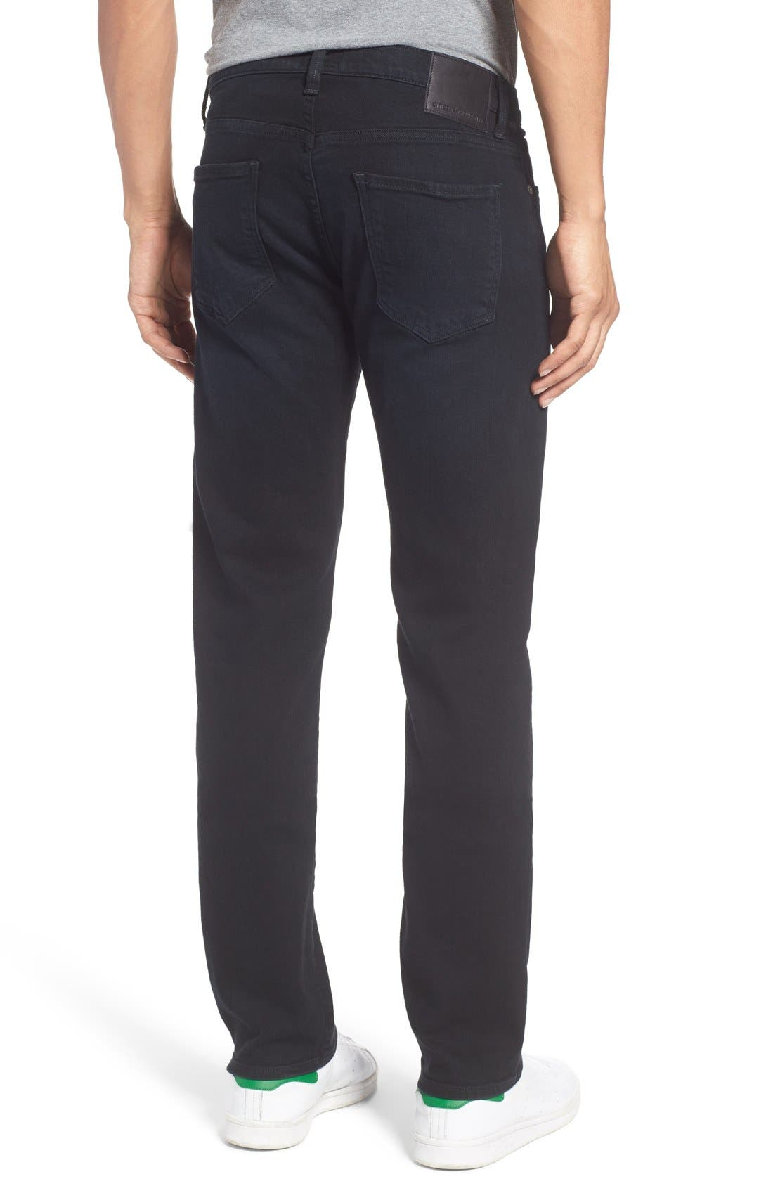 Gage Slim Straight Leg Jeans,                             Alternate thumbnail 7, color,                             401