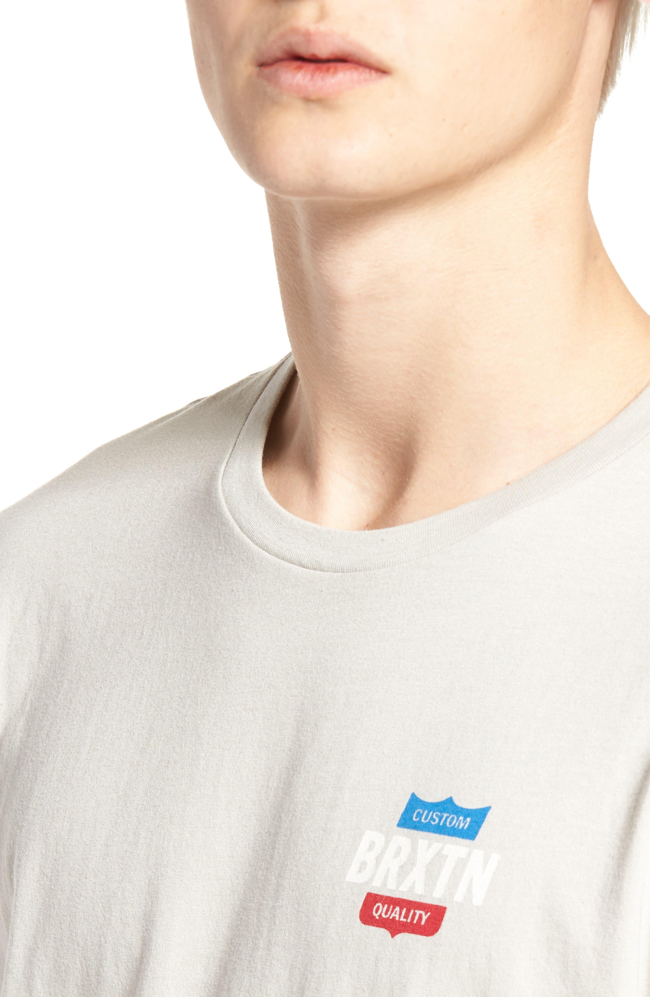 Garth Premium T-Shirt,                             Alternate thumbnail 4, color,                             020