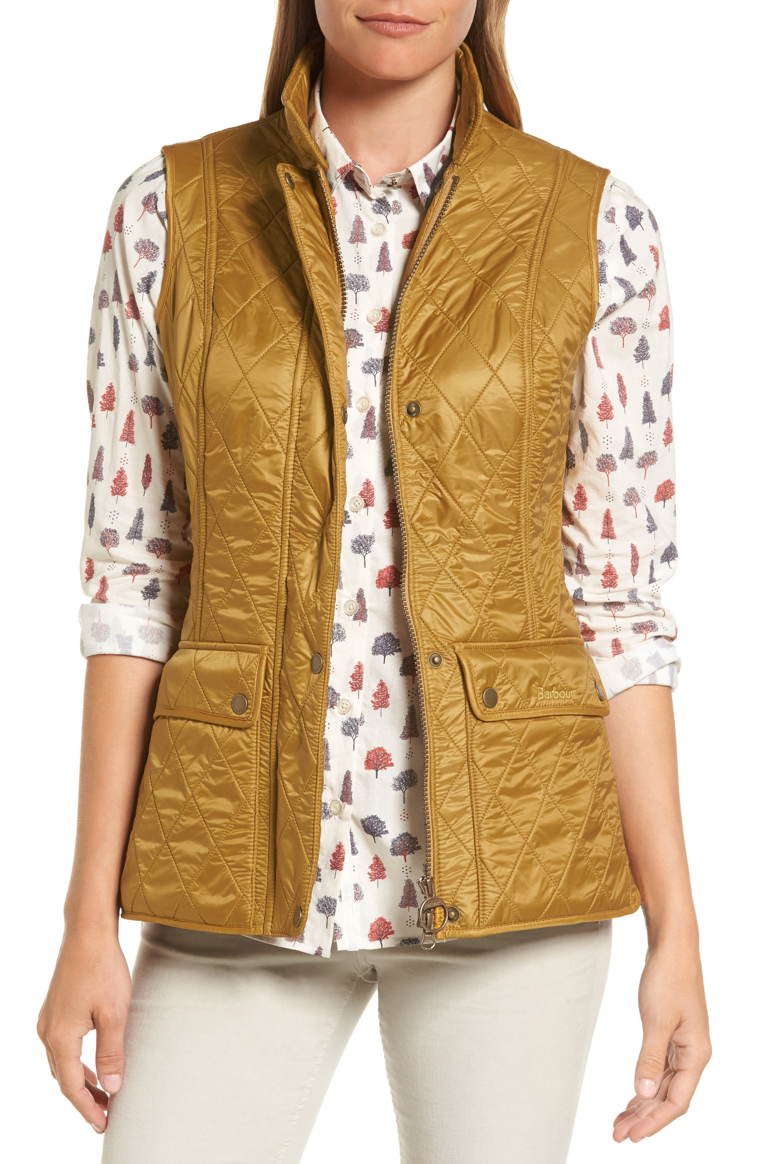 Wray Water Resistant Quilted Gilet,                             Main thumbnail 4, color,