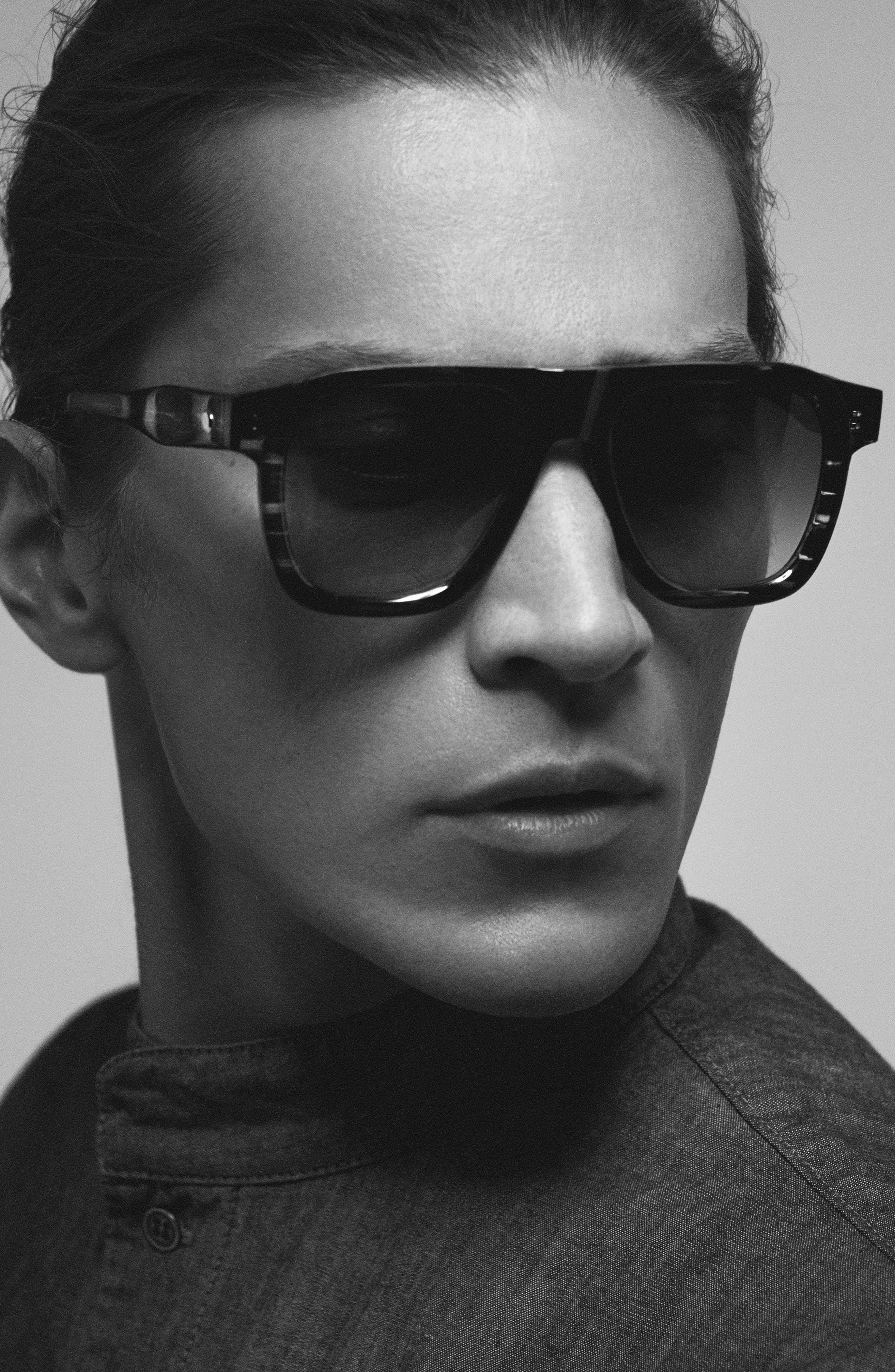 Duke Aviator Sunglasses,                             Alternate thumbnail 3, color,                             001