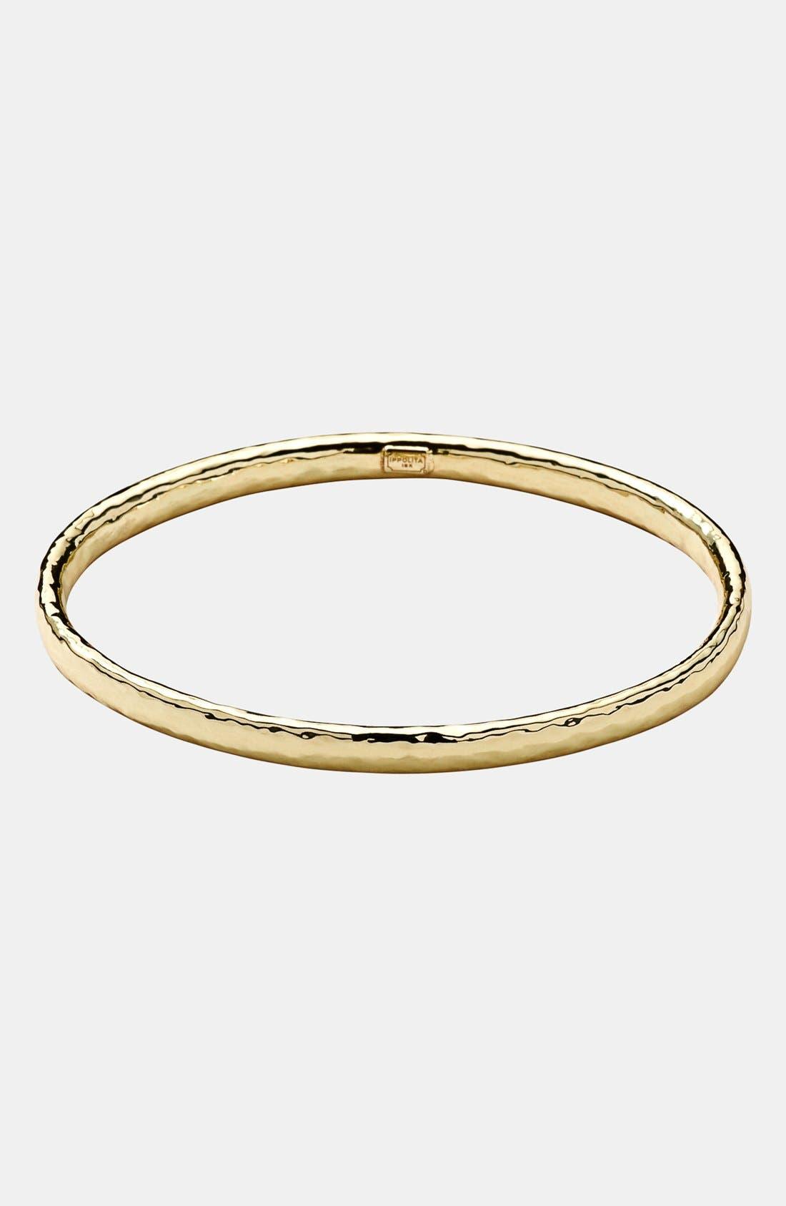 'Glamazon' 18k Gold Bangle,                         Main,                         color, YELLOW GOLD