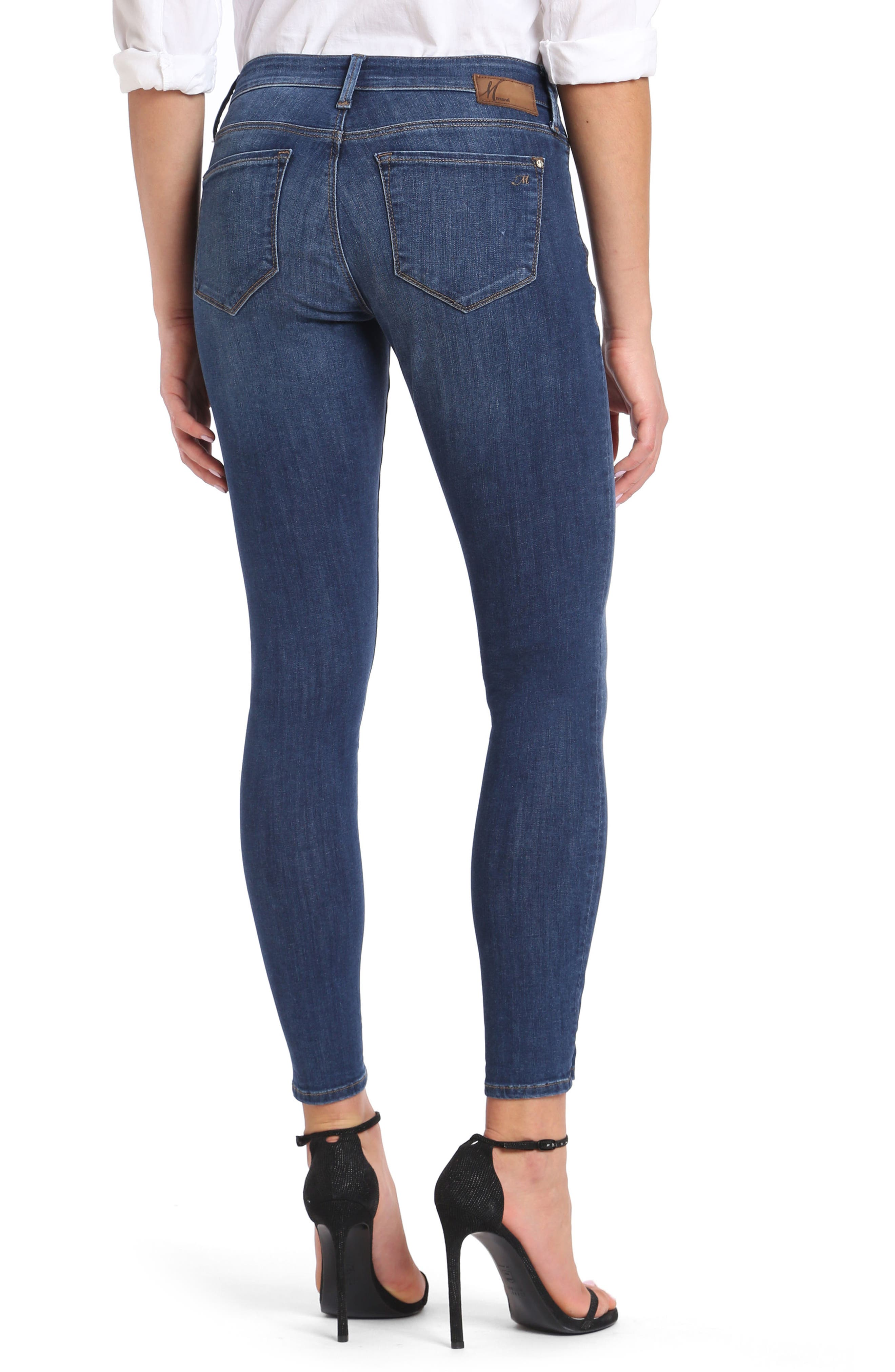 Alexa Ankle Skinny Jeans,                             Alternate thumbnail 2, color,