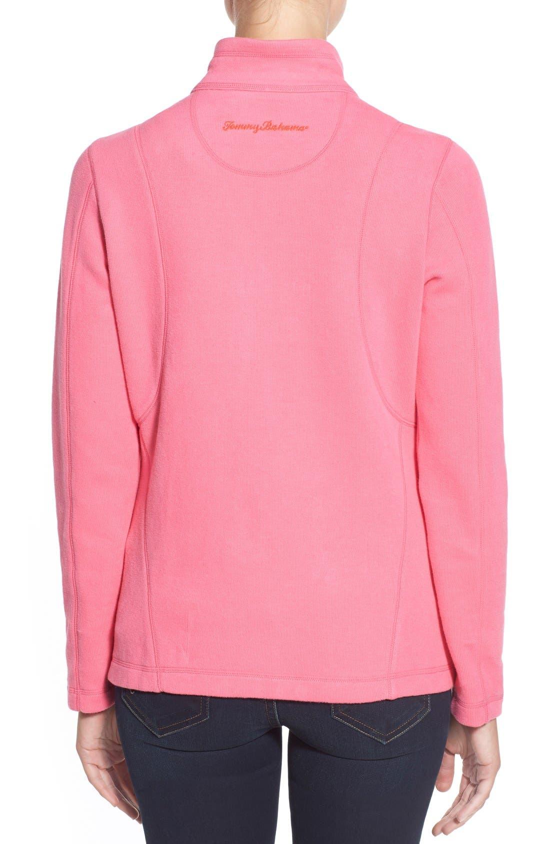 'Aruba' Full Zip Sweatshirt,                             Alternate thumbnail 14, color,