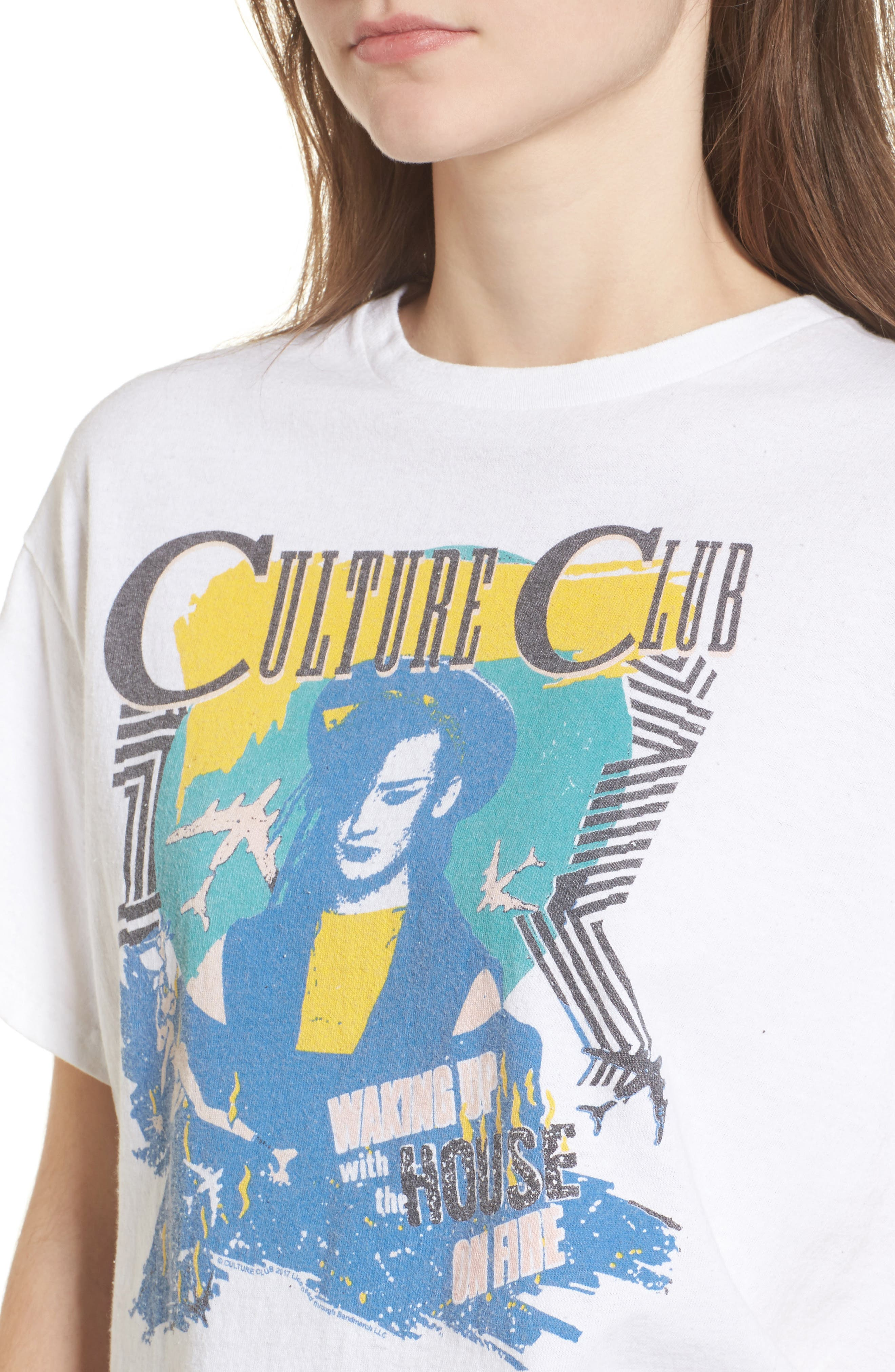 JUNK FOOD,                             Culture Club Tee,                             Alternate thumbnail 4, color,                             110